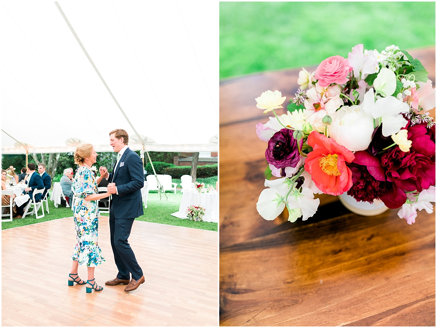 Multi Colored Wedding Flowers Photos by Alyssa Parker Photography
