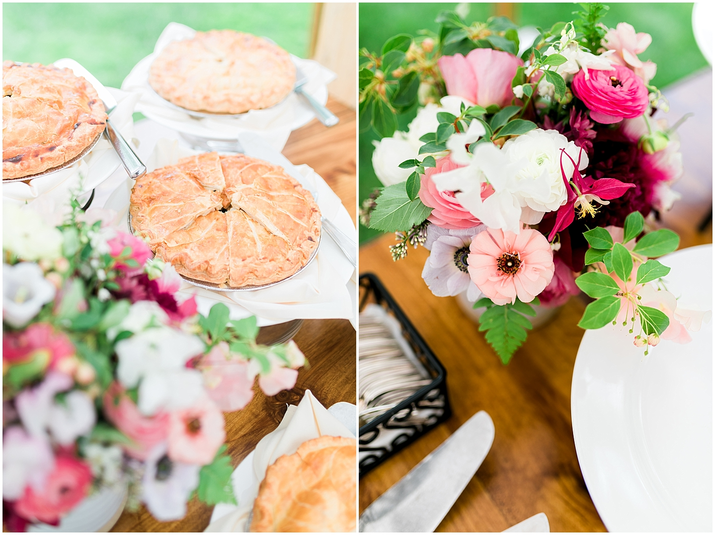 Wedding Pie Photos by Alyssa Parker Photography
