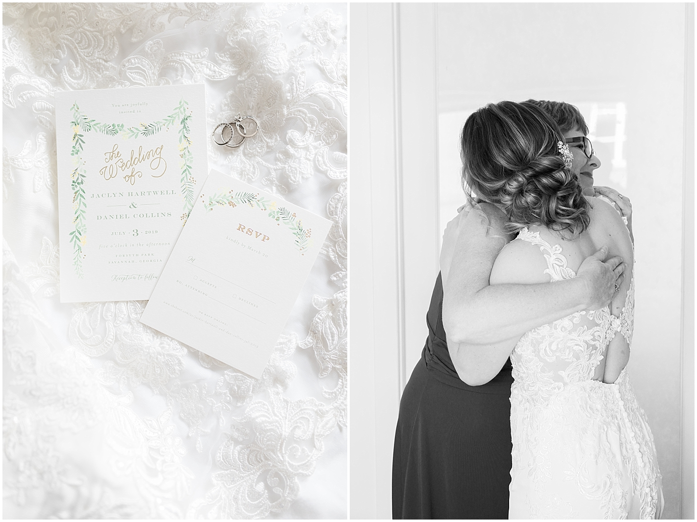 Minted Wedding Invite Photo by Alyssa Parker Photography