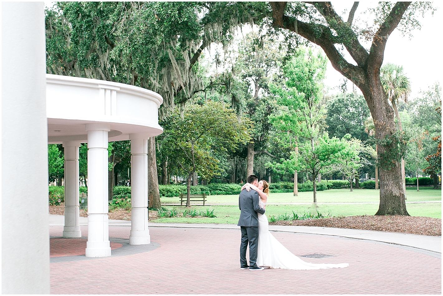 Forsyth Park Wedding Photo by Alyssa Parker Photography