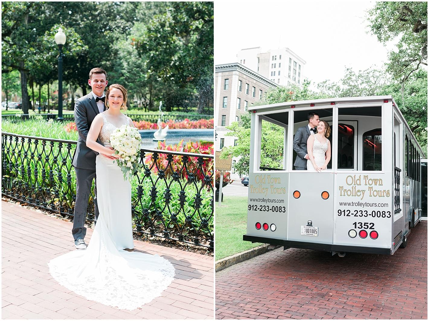 Forsyth Park Destination Wedding Savannah GA Photos by Alyssa Parker Photography