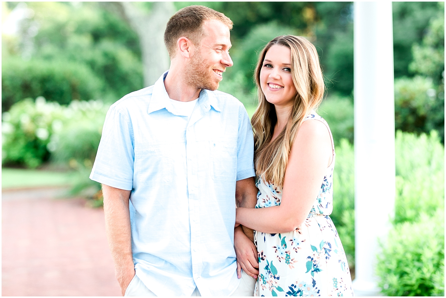 Brewsters Garden Engagement Session Plymouth MA Photos by Alyssa Parker Photography