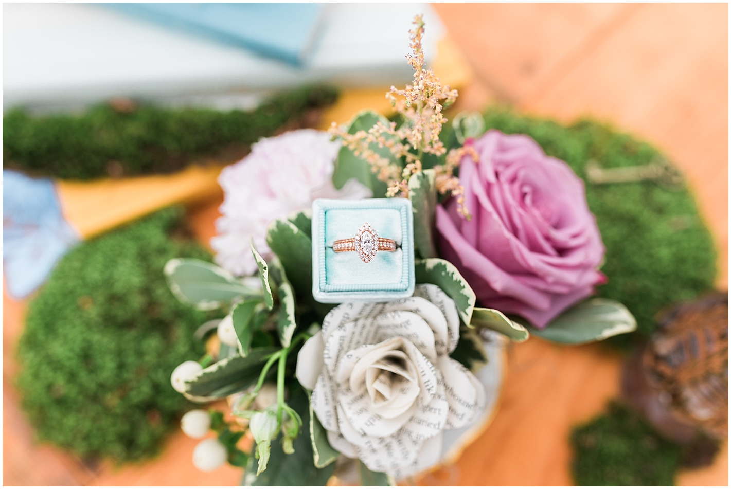 Alice and Wonderland Themed Wedding Photos by Alyssa Parker Photography