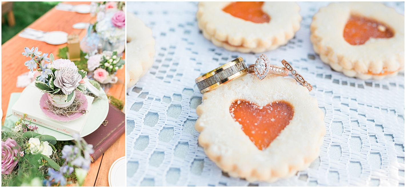 Alice and Wonderland Themed Wedding Tables Photos by Alyssa Parker Photography