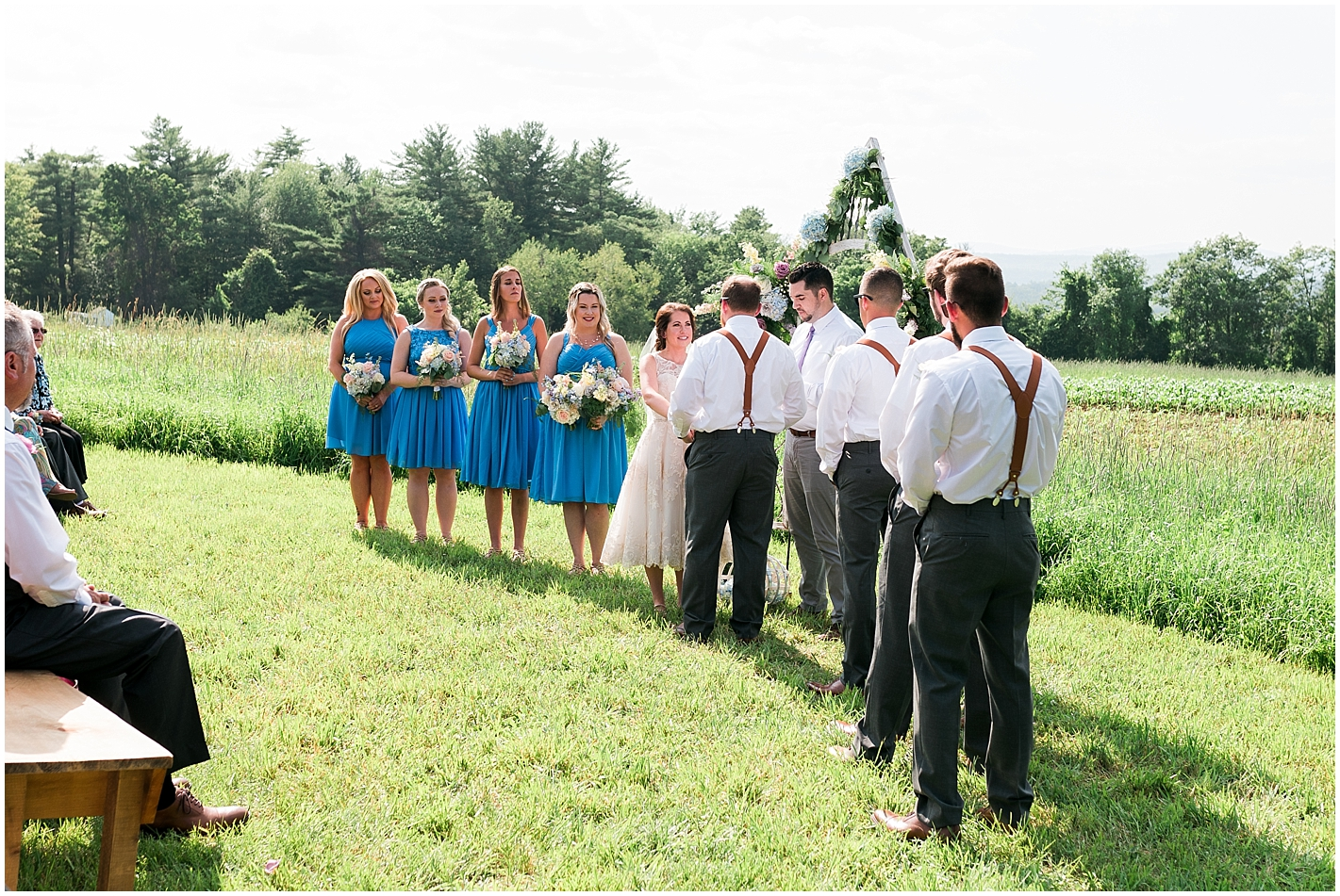 Alice and Wonderland Themed Wedding Ceremony Photos by Alyssa Parker Photography