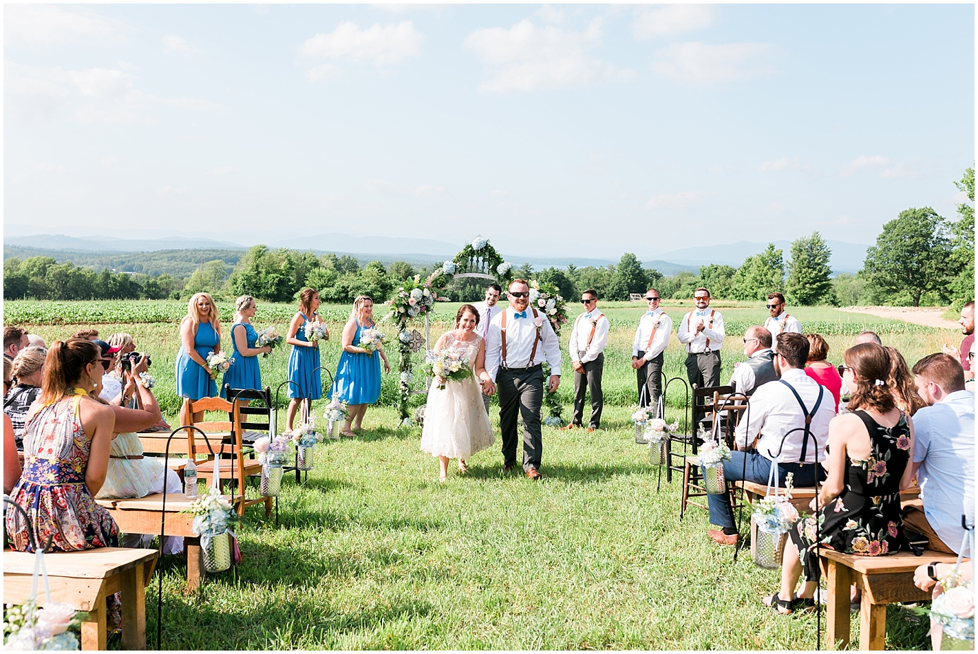 Alice and Wonderland Themed Wedding Ceremony Gilford NH Photos by Alyssa Parker Photography