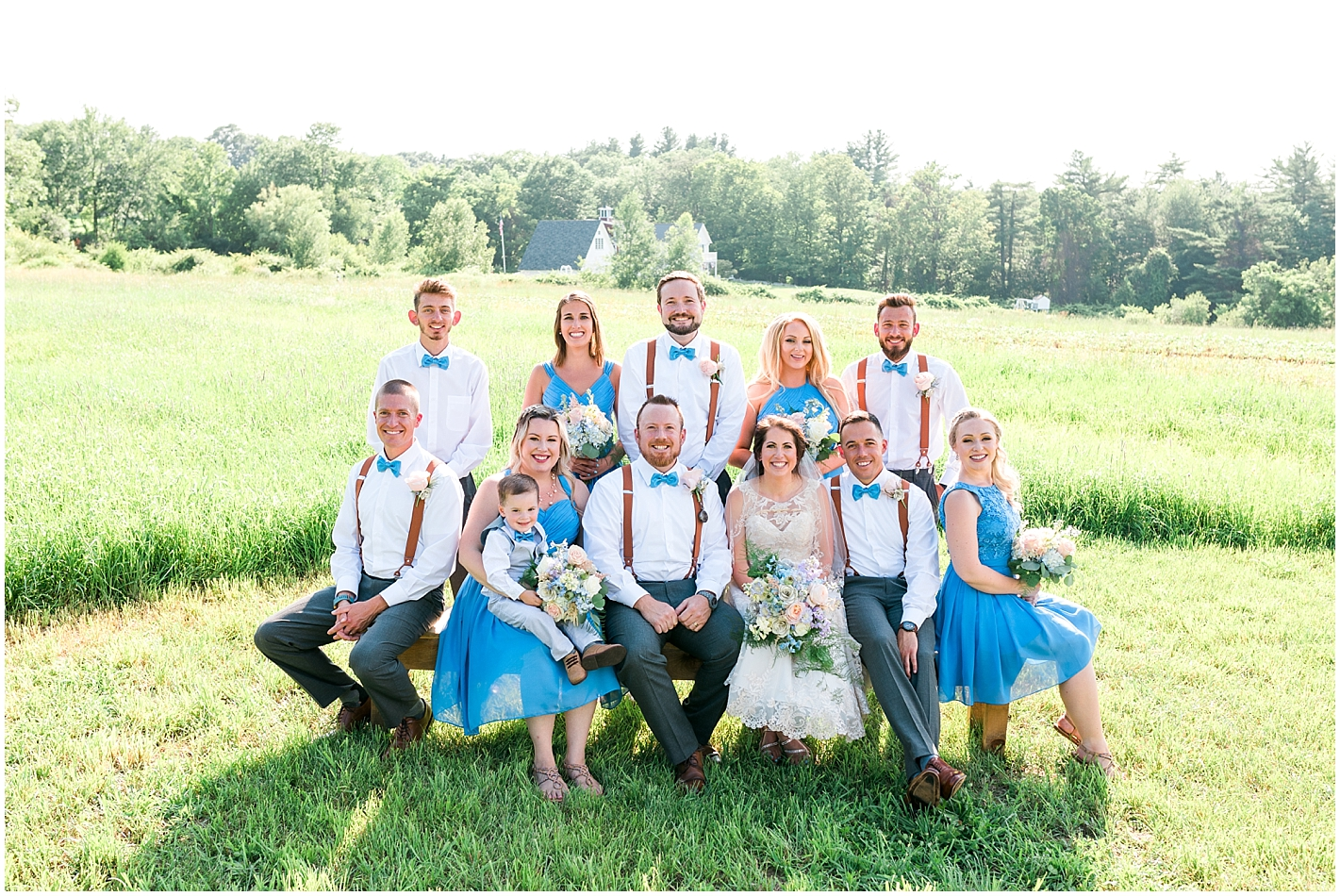 Alice and Wonderland Themed Wedding Party Photos by Alyssa Parker Photography