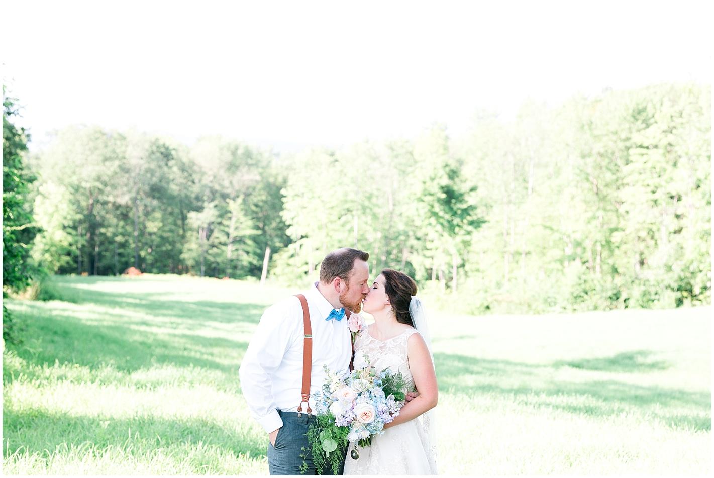 Tea Length Wedding Dress Photos by Alyssa Parker Photography