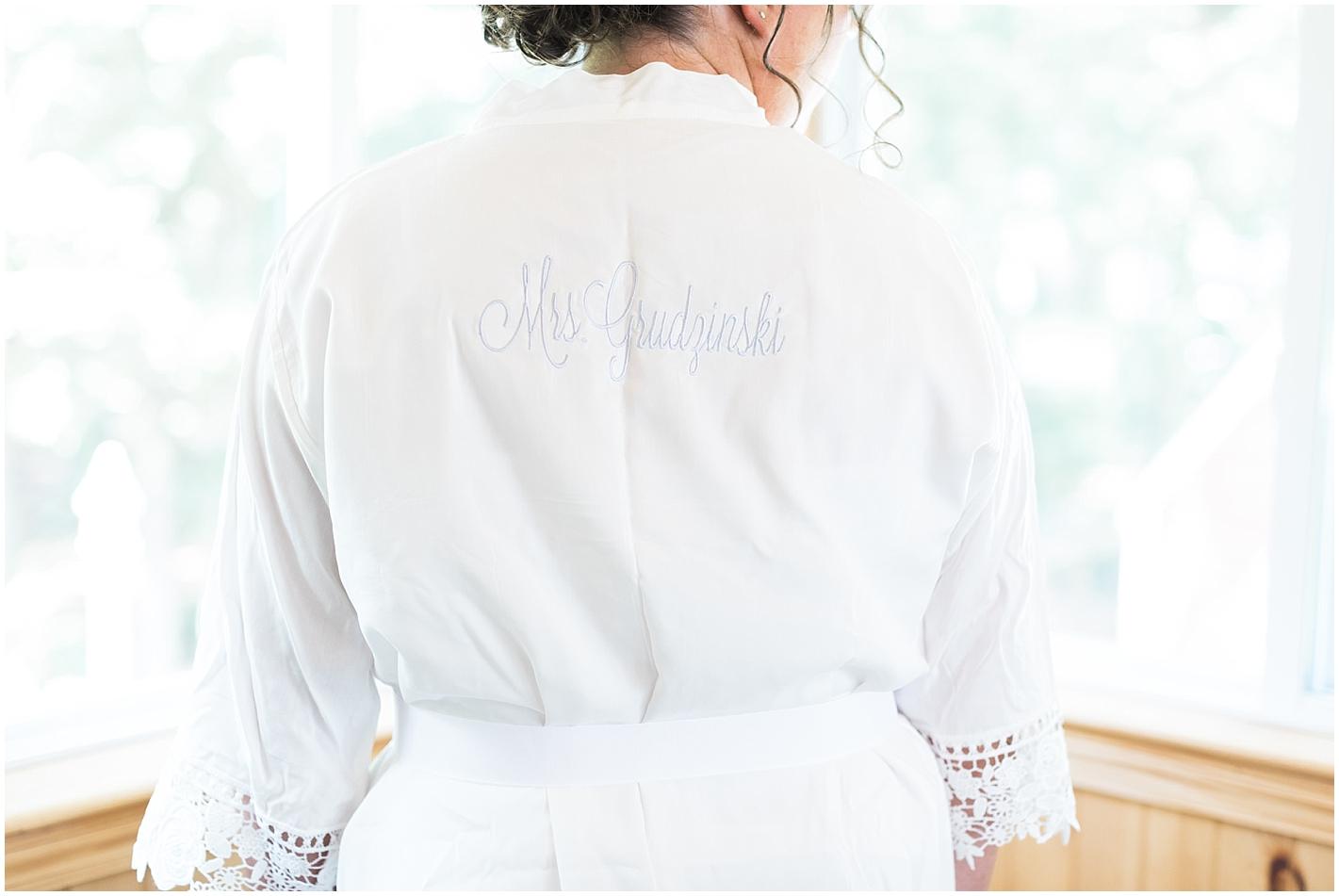 Mrs robe Photo By Alyssa Parker Photography