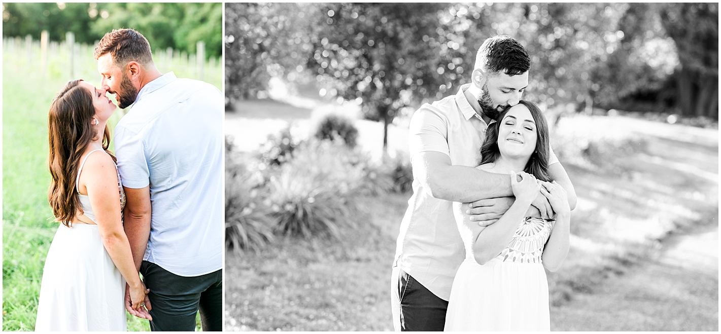 Engagement photos Broken Creek Vineyard by Alyssa Parker Photography