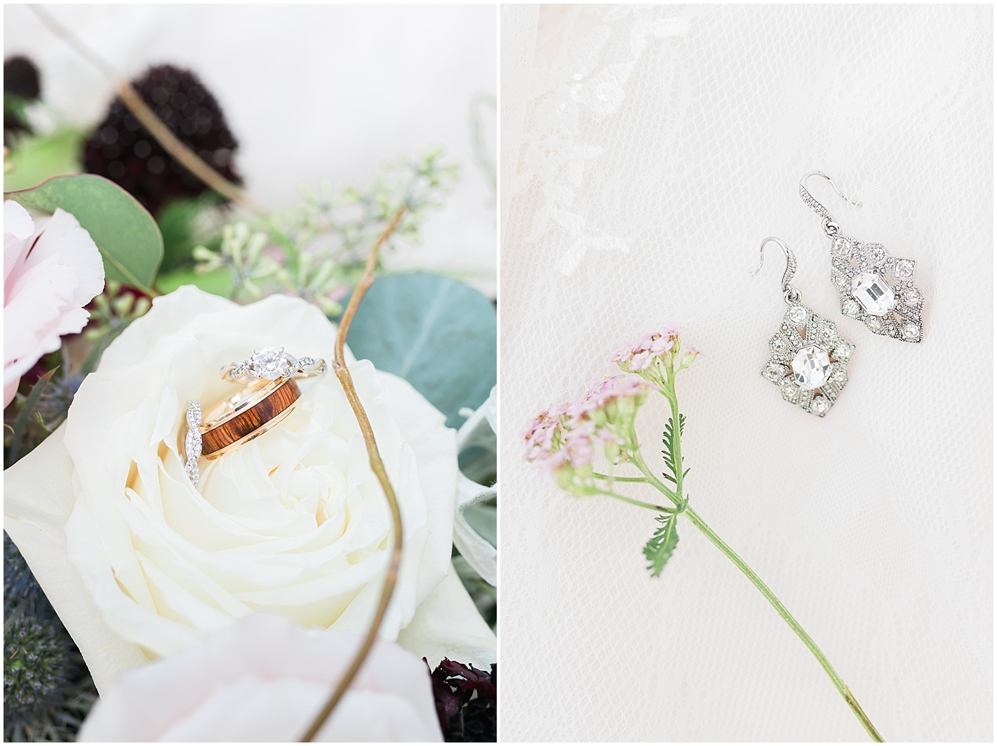 Wedding Jewelry photo by Alyssa Parker Photography