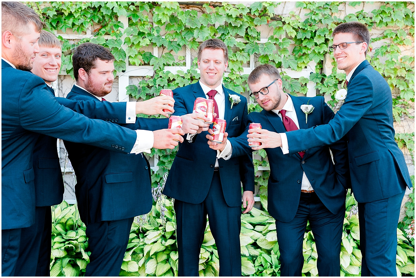 Candid groomsmen photo By Alyssa Parker Photography