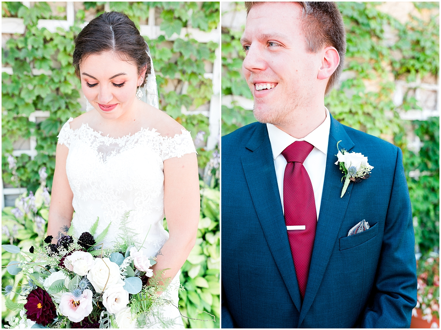 Bride formals and groom formal By Alyssa Parker Photography