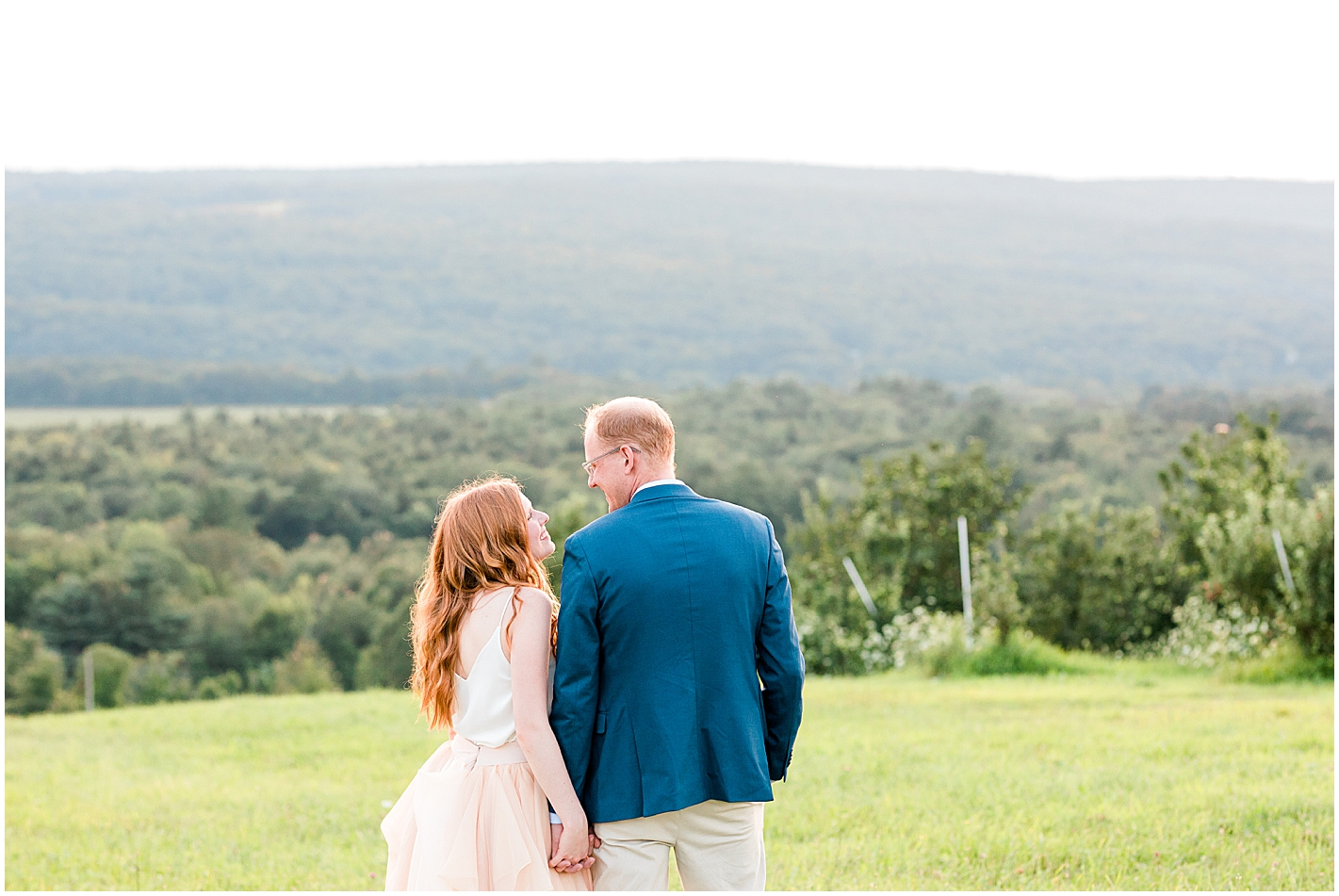 Anniversary Session at Alyson's Orchard New England by Alyssa Parker Photography