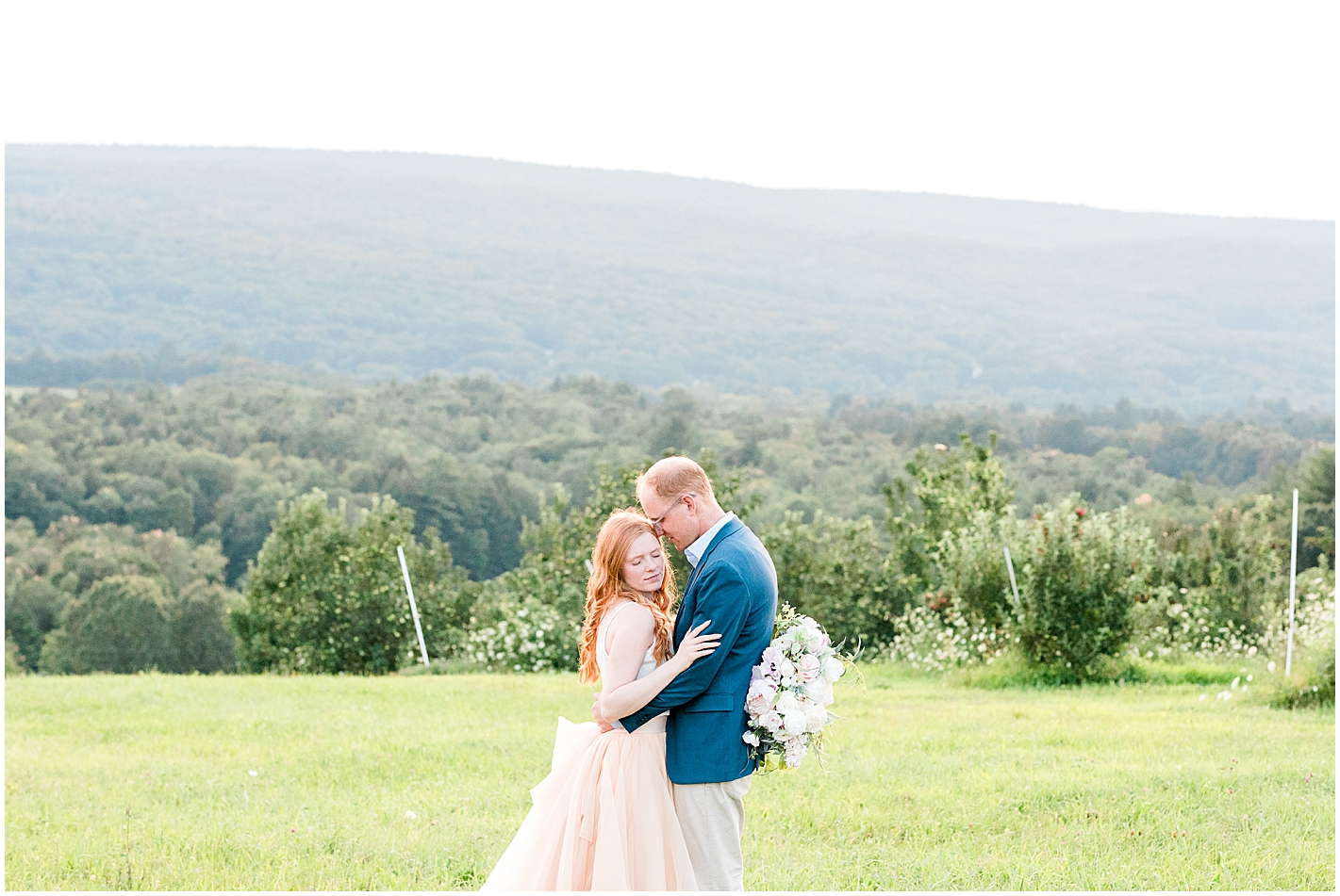 Pink flowy skirt engagement photos by Alyssa Parker Photography
