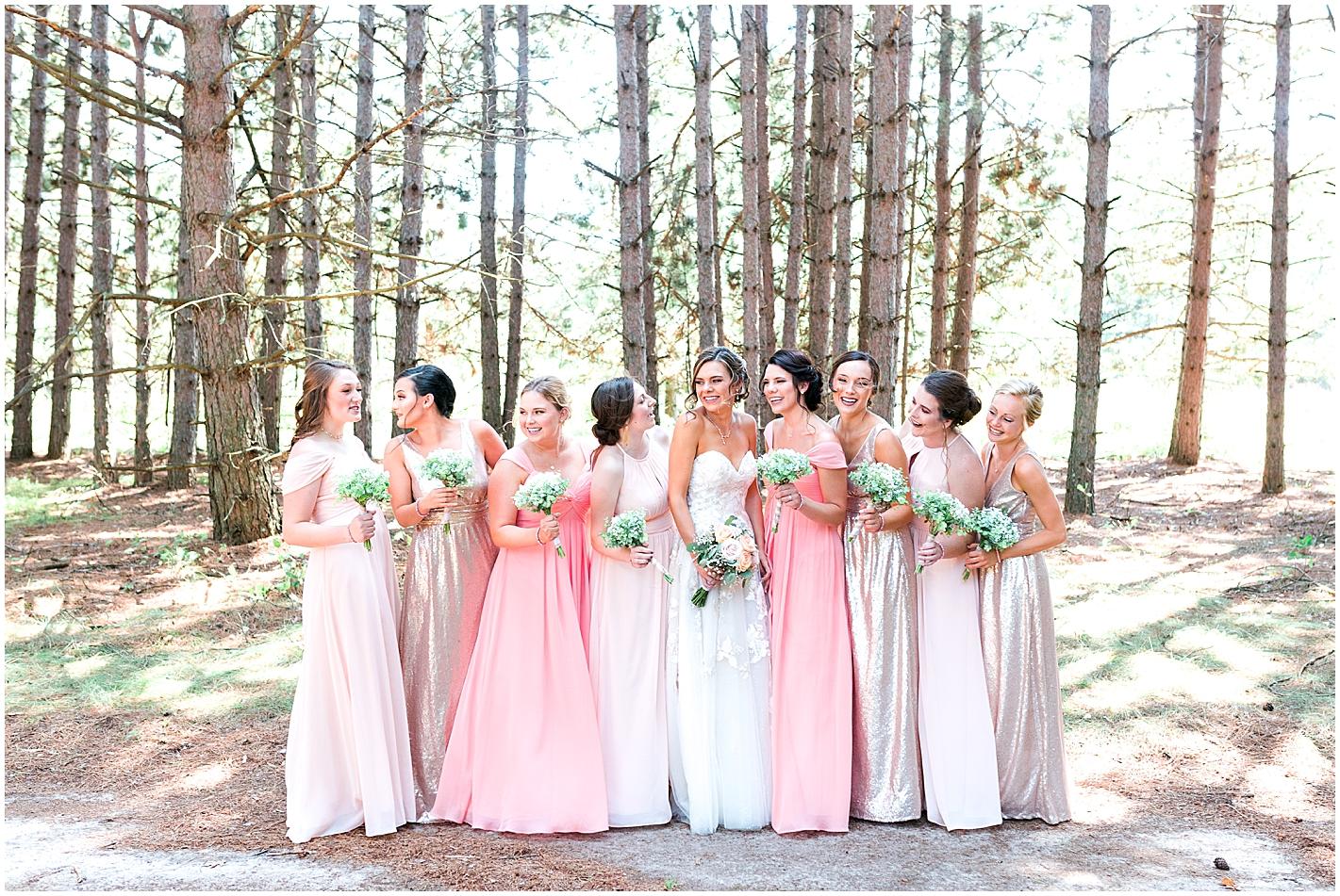 Rustic Wedding Nisswa MN photos by Alyssa Parker Photography