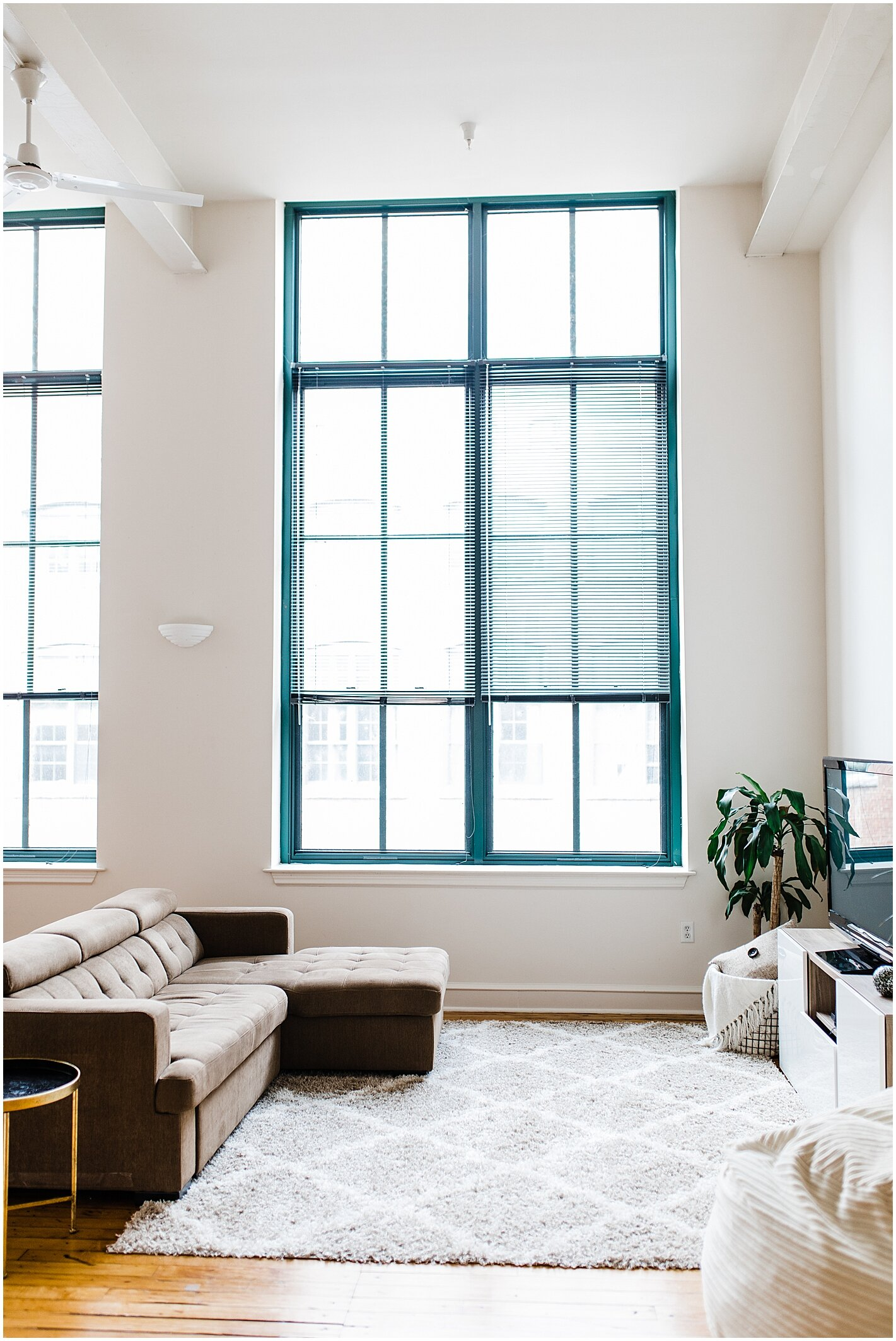 We are going to miss these windows and high ceilings