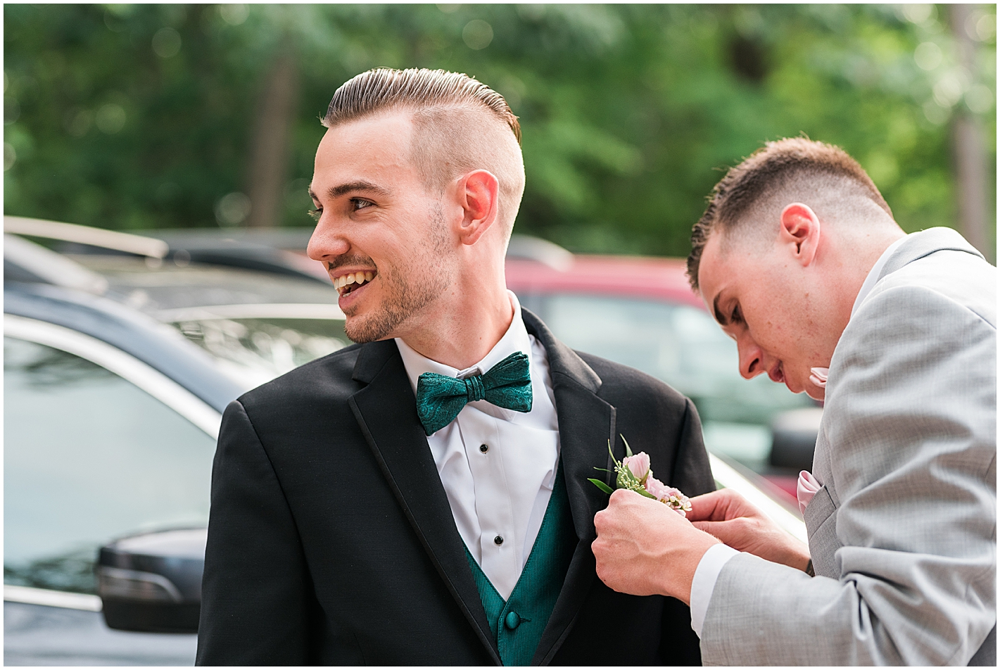 Groom Getting Ready Photo by Alyssa Parker Photography