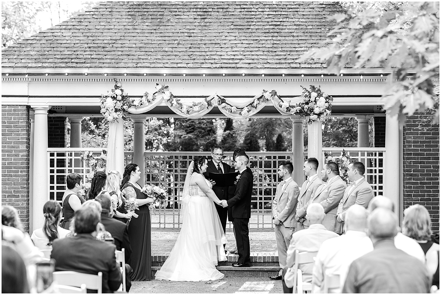 Ceremony at Governors Inn Photos by Alyssa Parker Photography