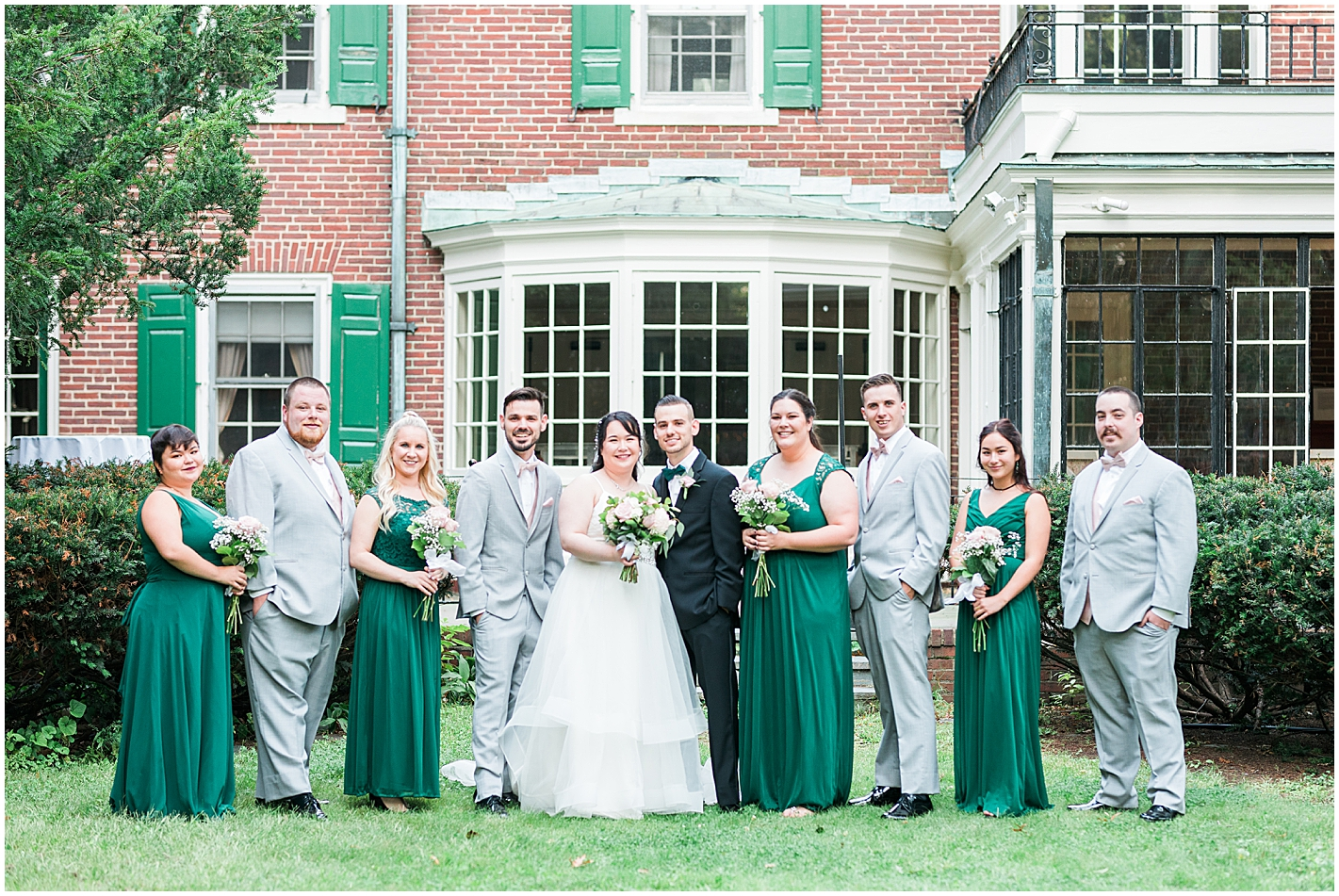 Wedding Party Formals at Governors Inn Photos by Alyssa Parker Photography