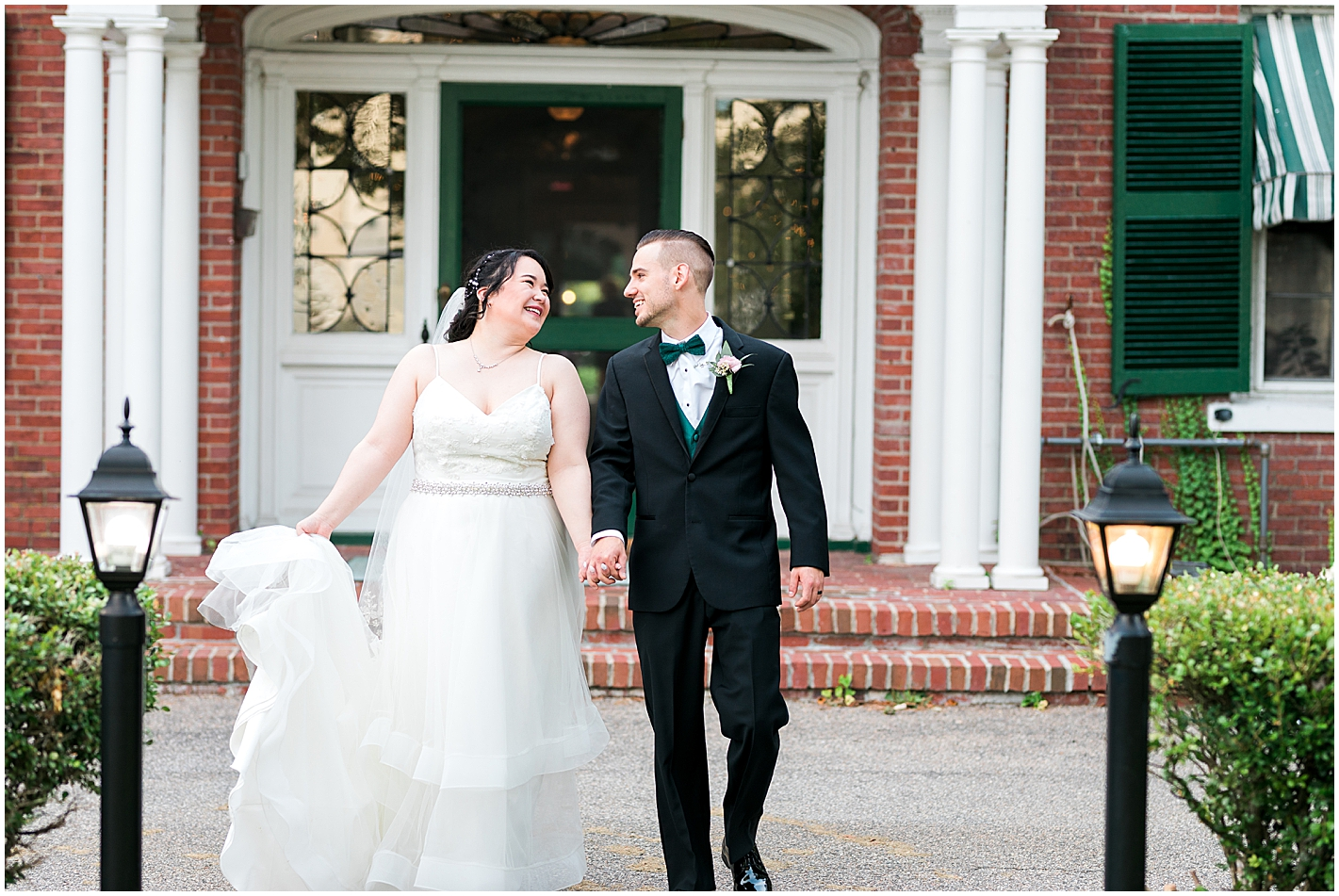 Bride and Groom Formals at Governors Inn Photos by Alyssa Parker Photography