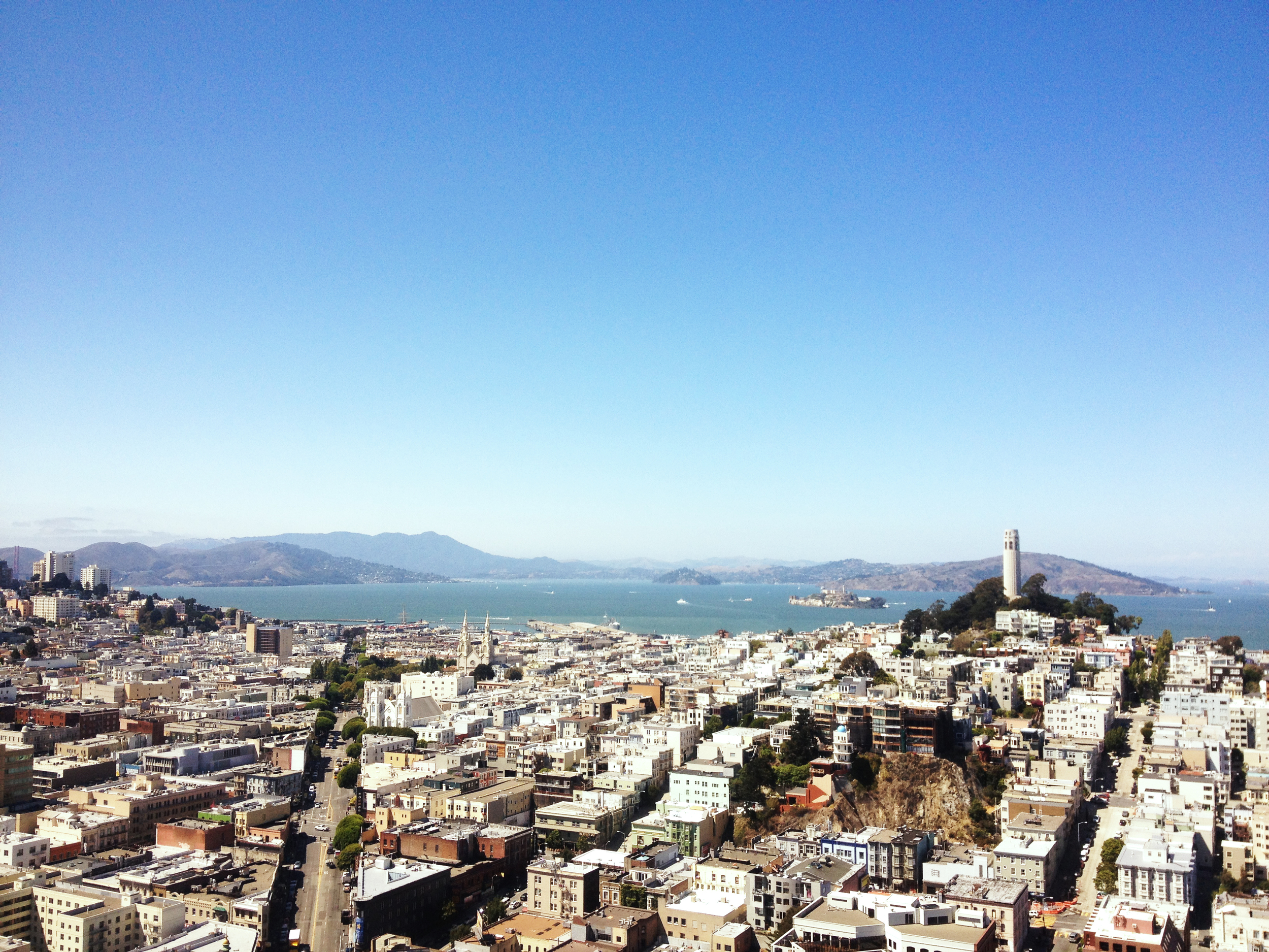 SF from Transamerica Pyramid
