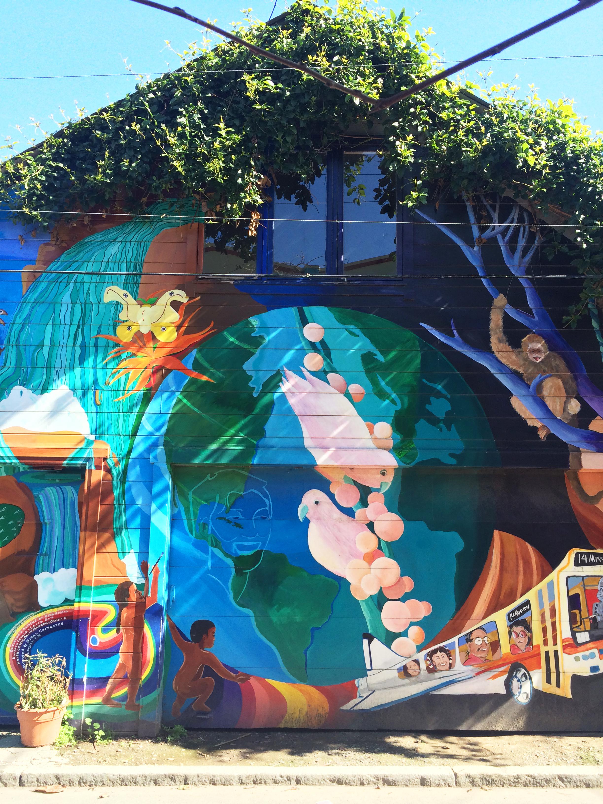 Balmy Alley Street Art