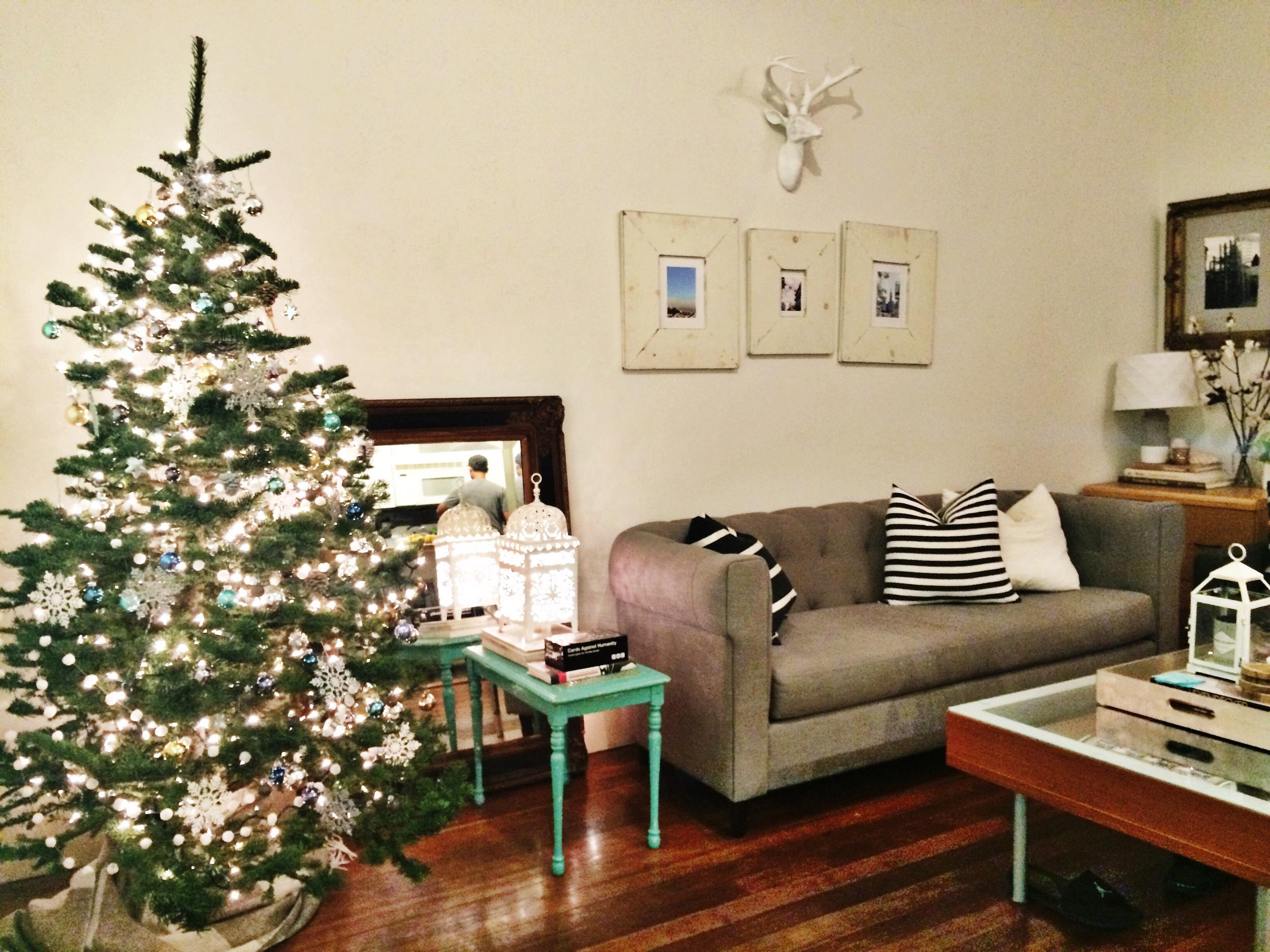 christmas apartment