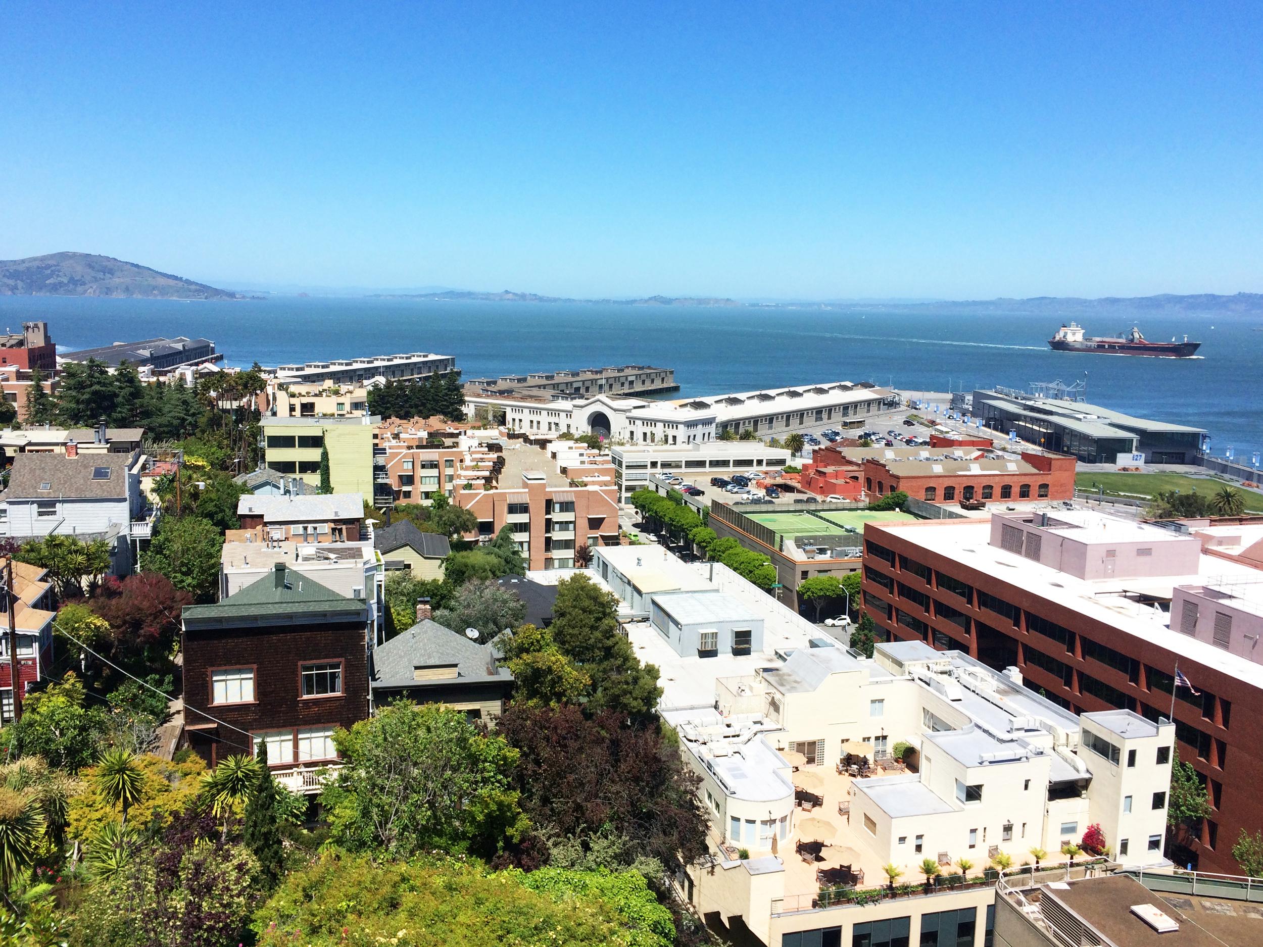Telegraph Hill views