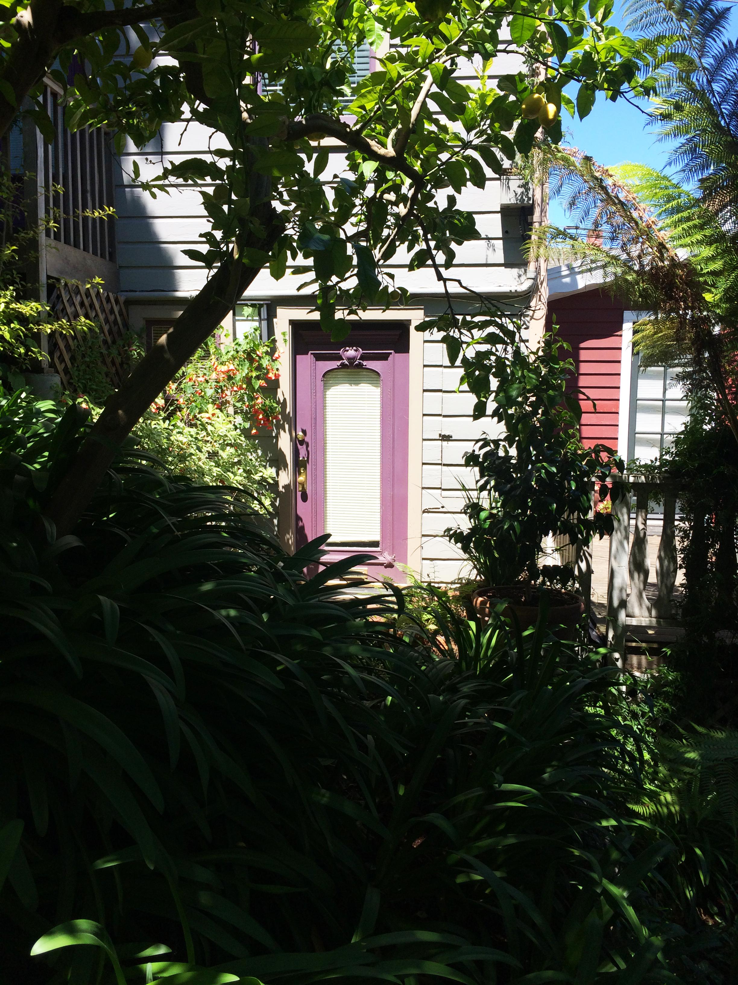 purple door inspiration