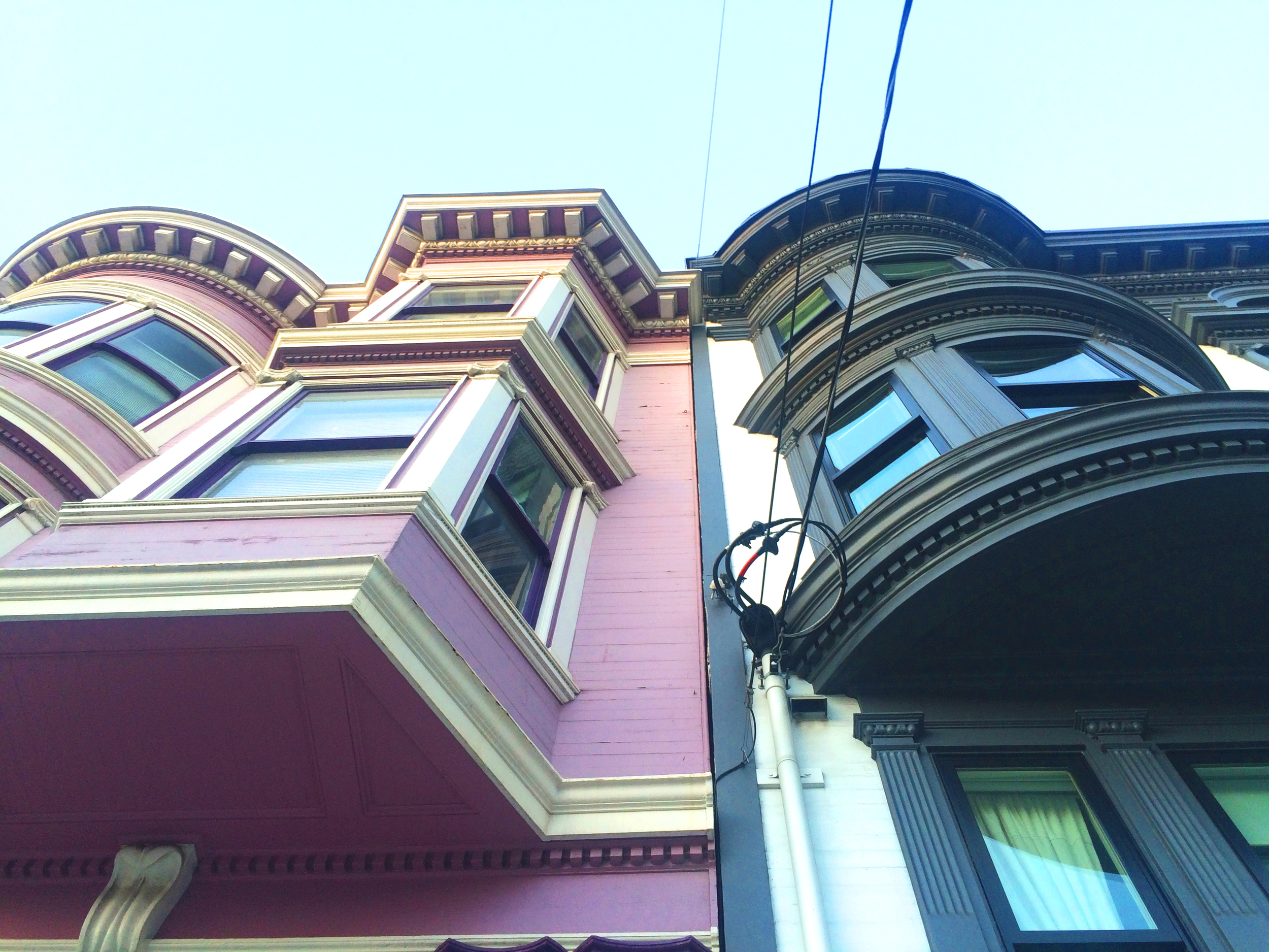 pink house sf