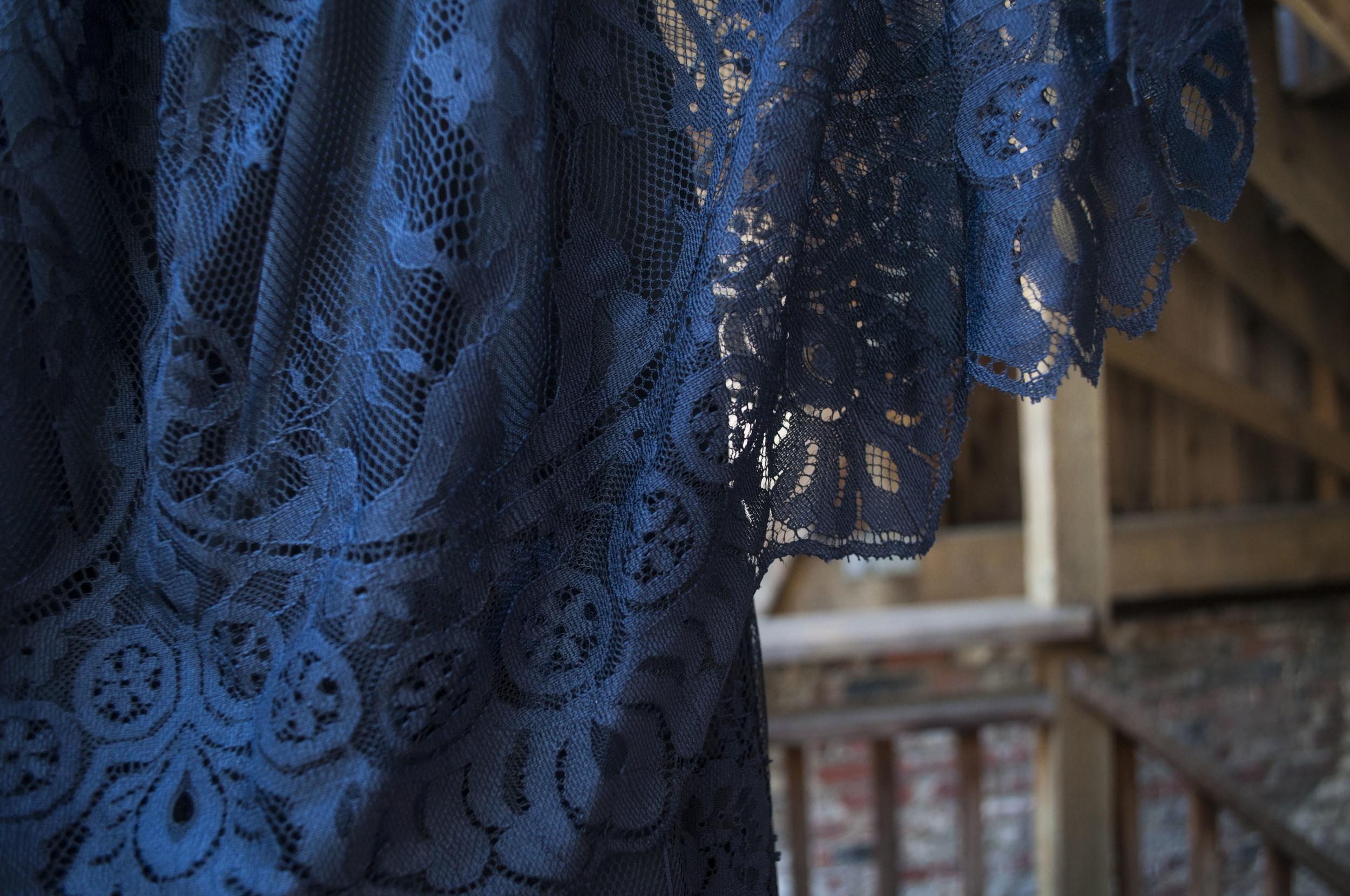 Asos review detail lace dress