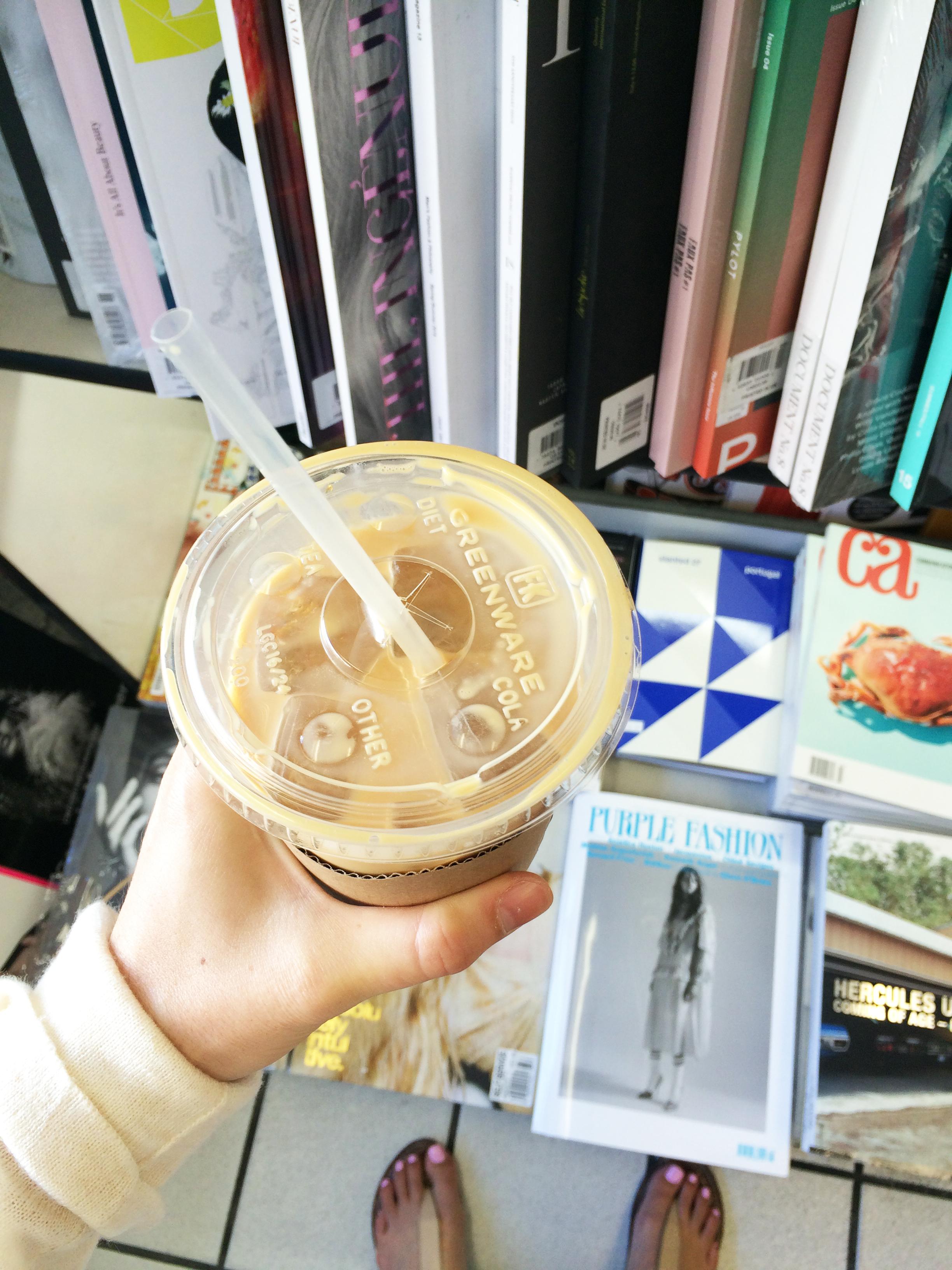 coffee and magazine heaven