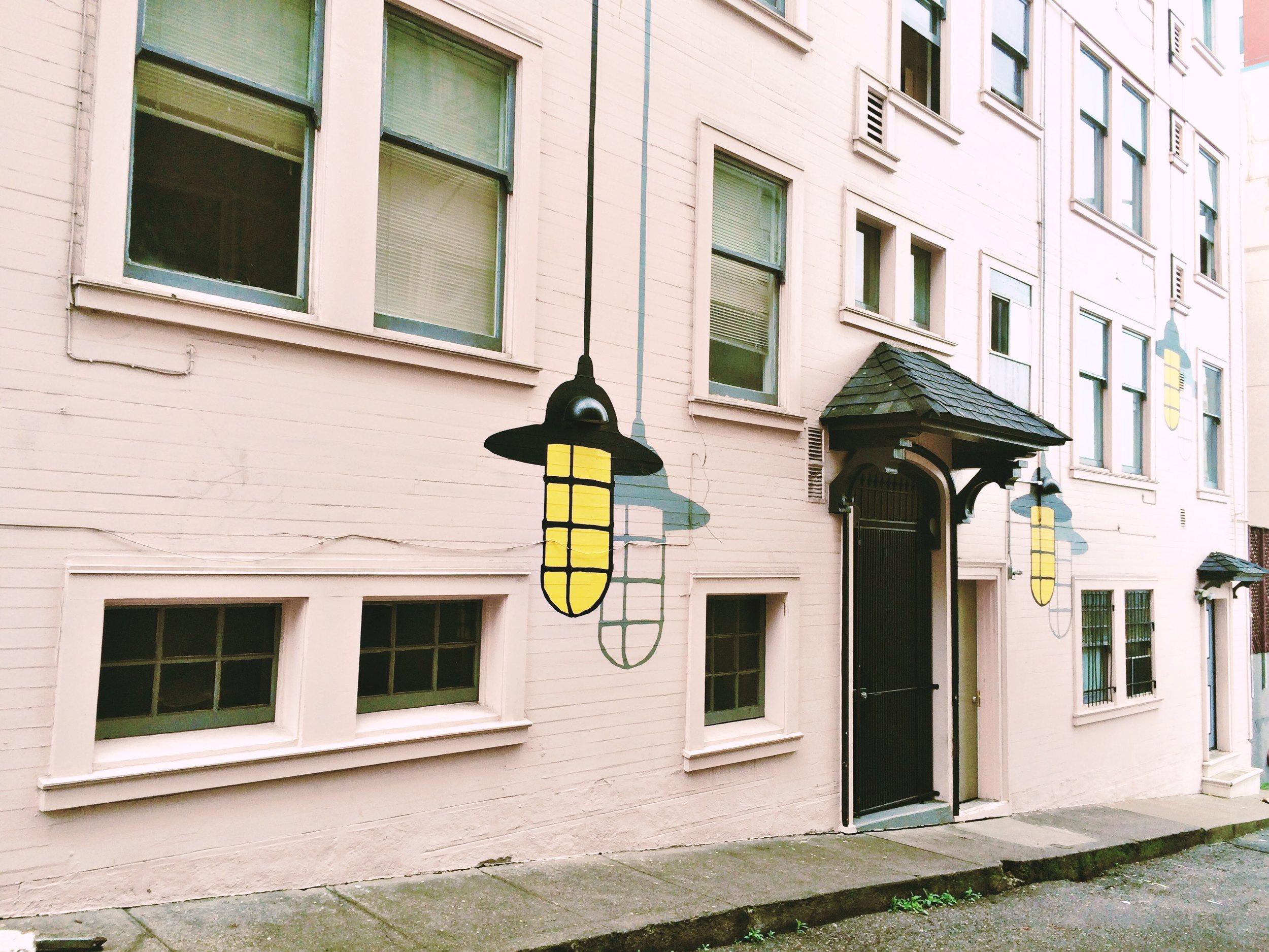 Bright Idea Street Art SF