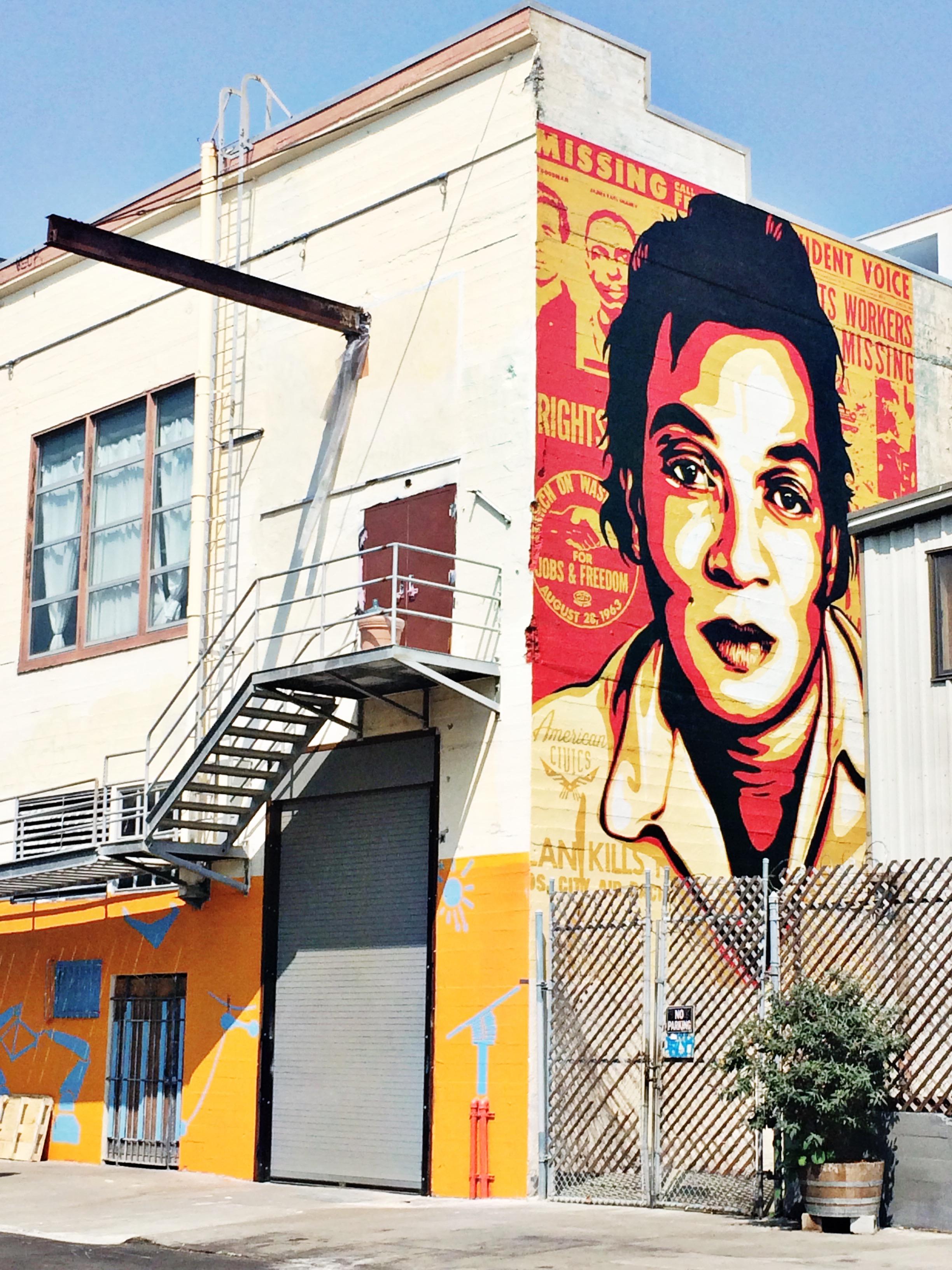 SF Street Art Murals