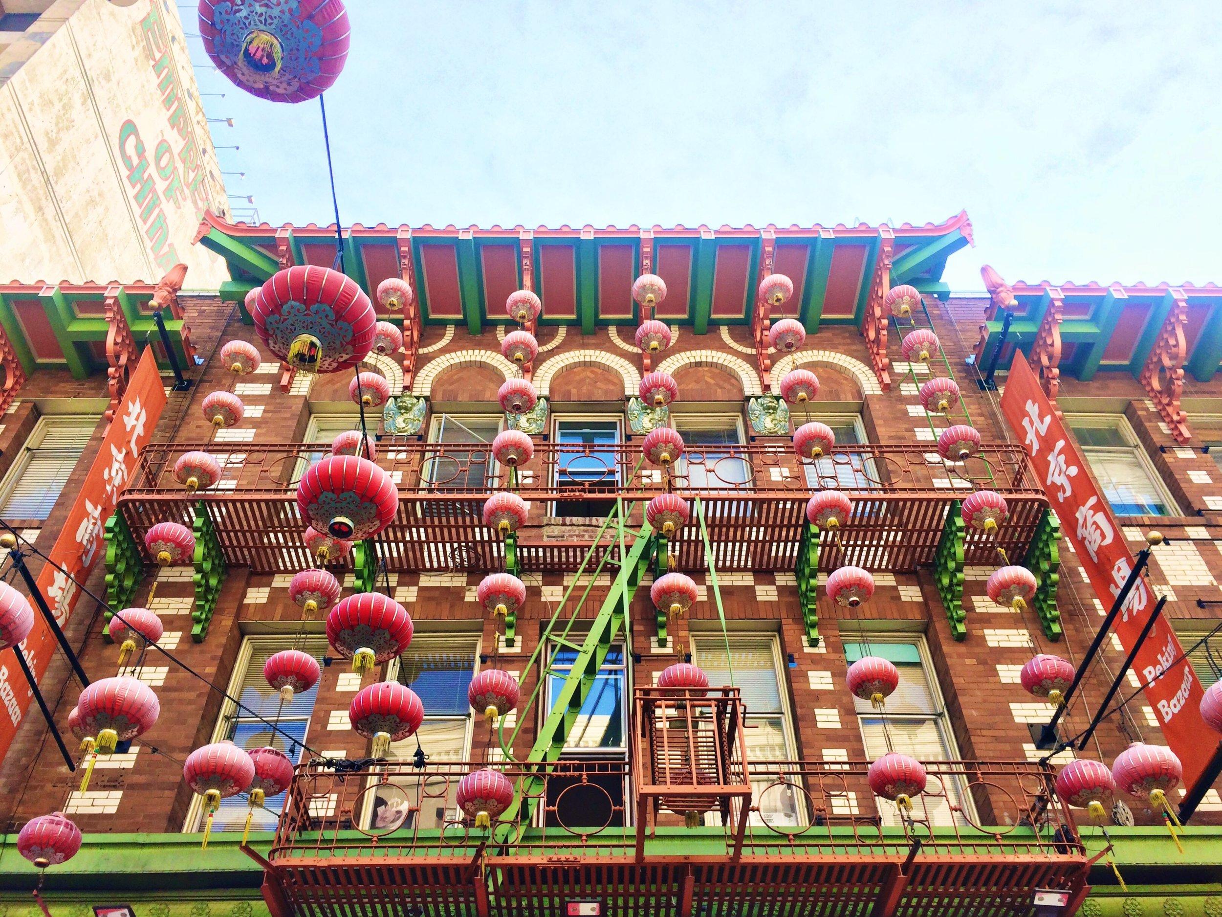 Chinatown SF city