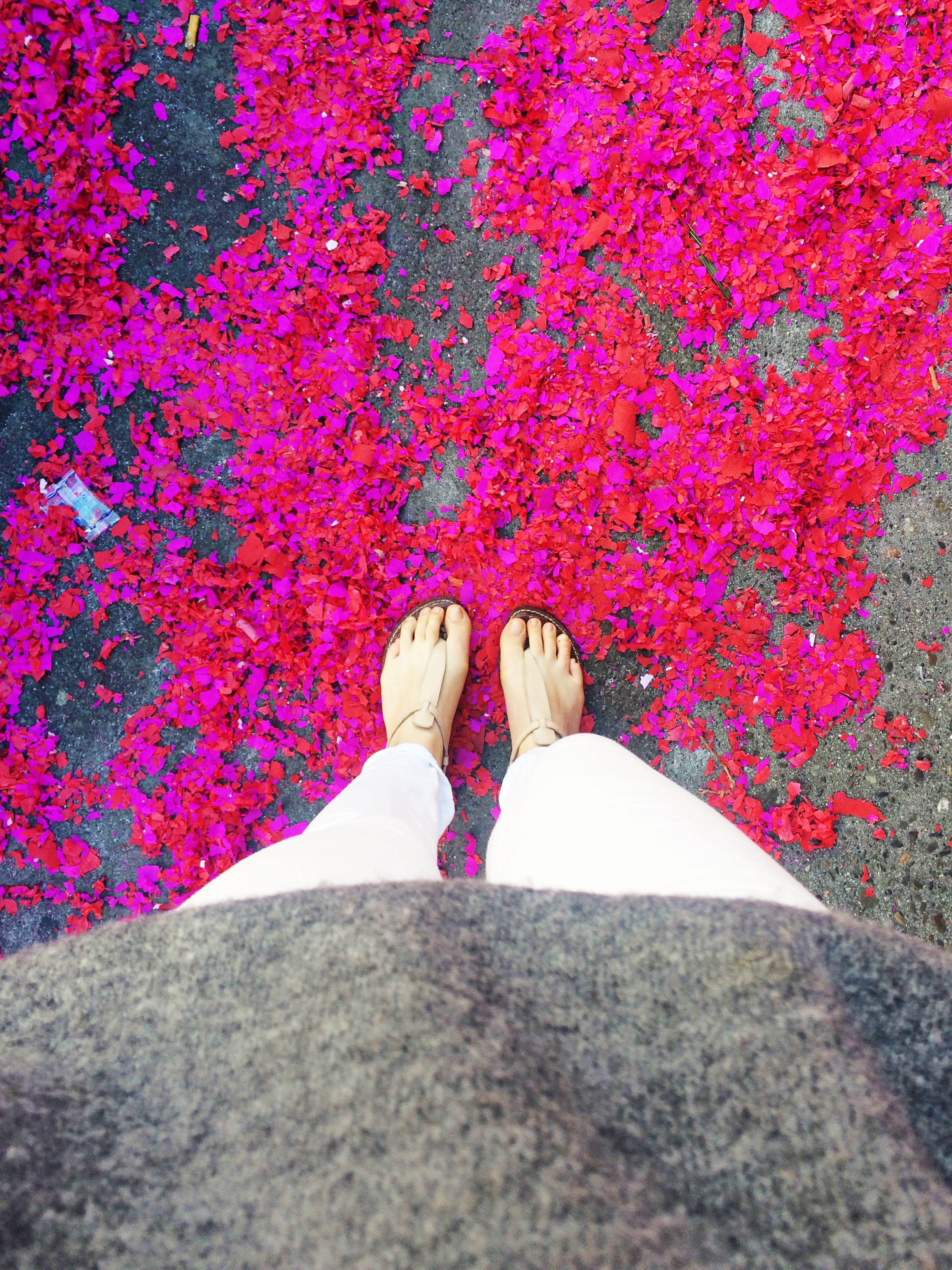 chinese new year ootd view confetti