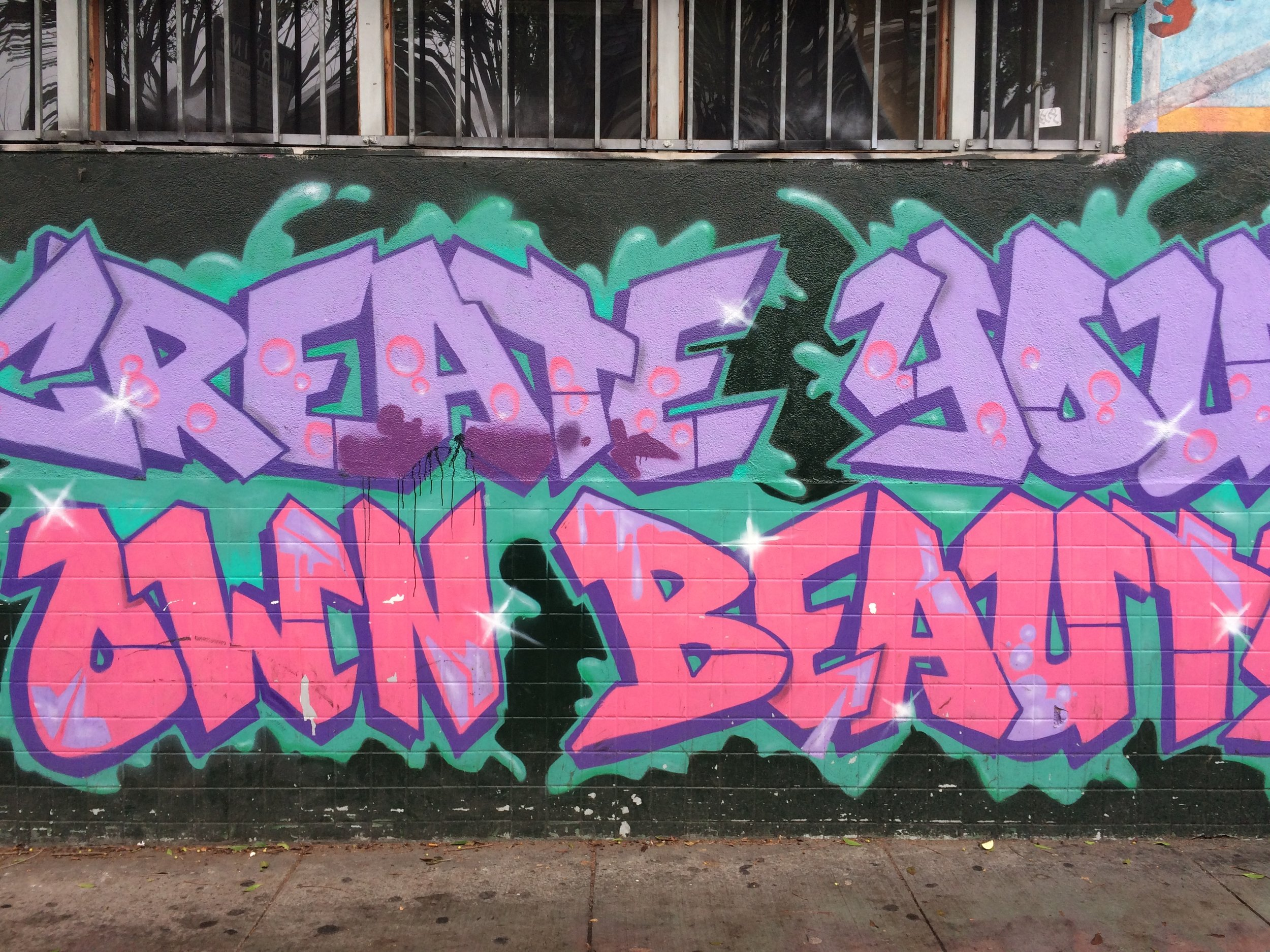 create your own beauty steet art mission