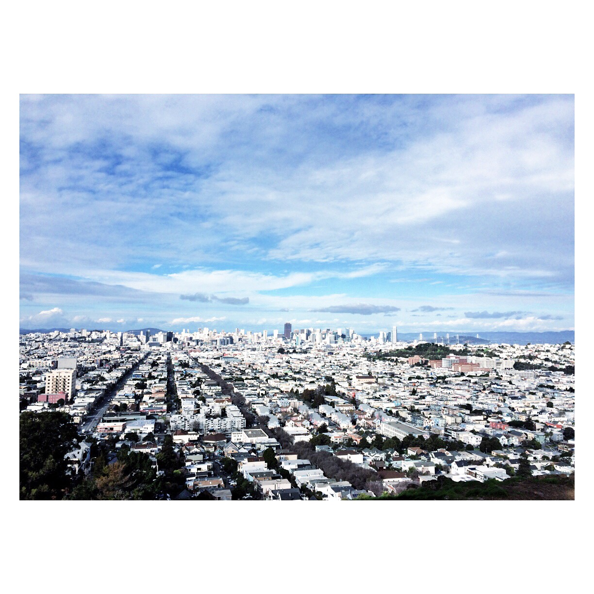 view from bernal heights