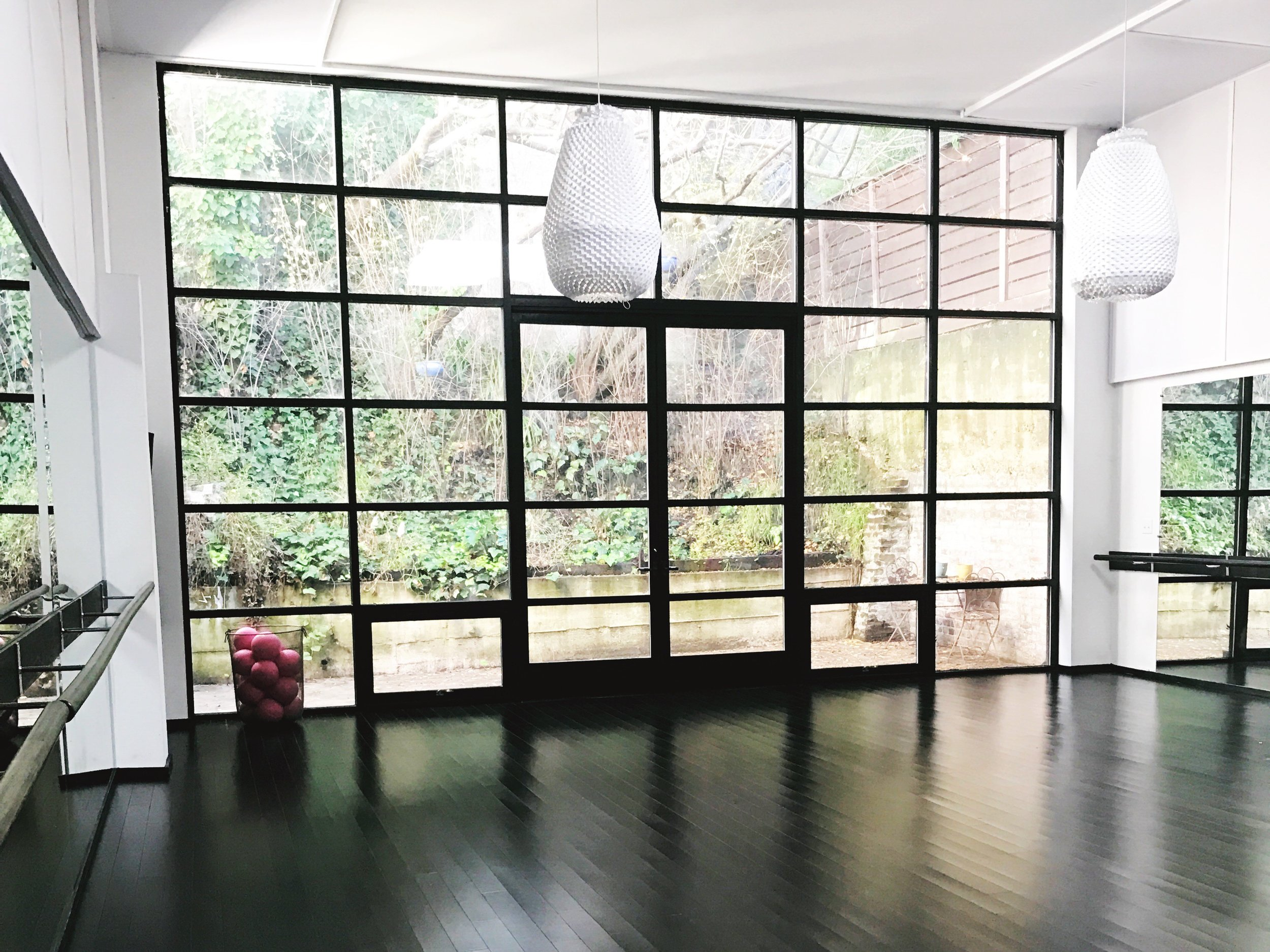 Pop Physique barre studio in San Francisco