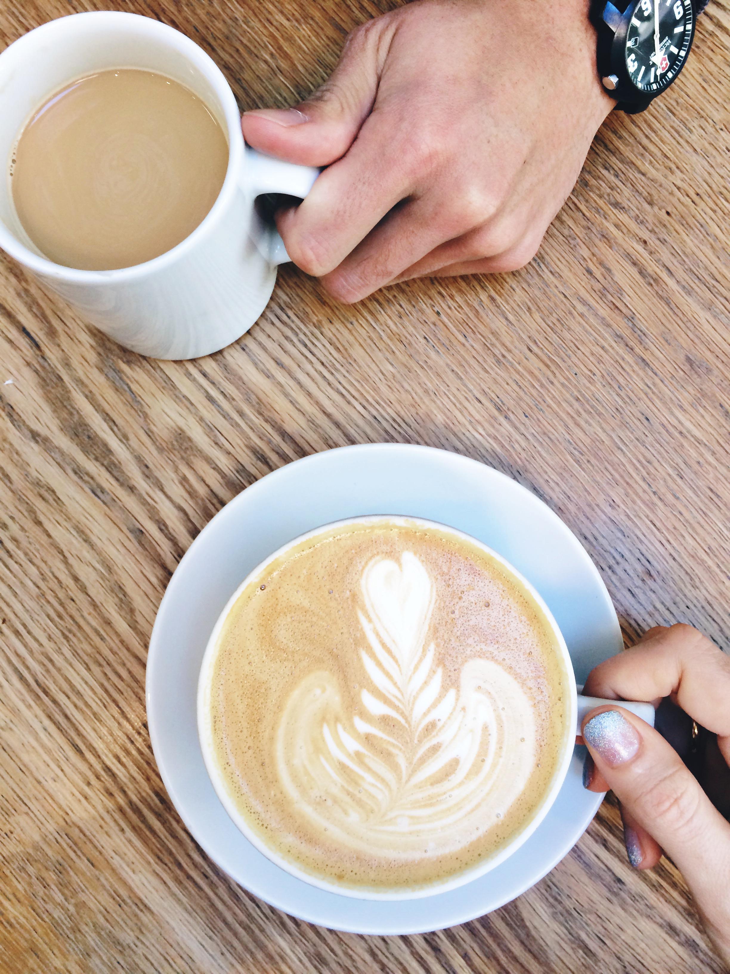 latte art san francisco st. frank coffee