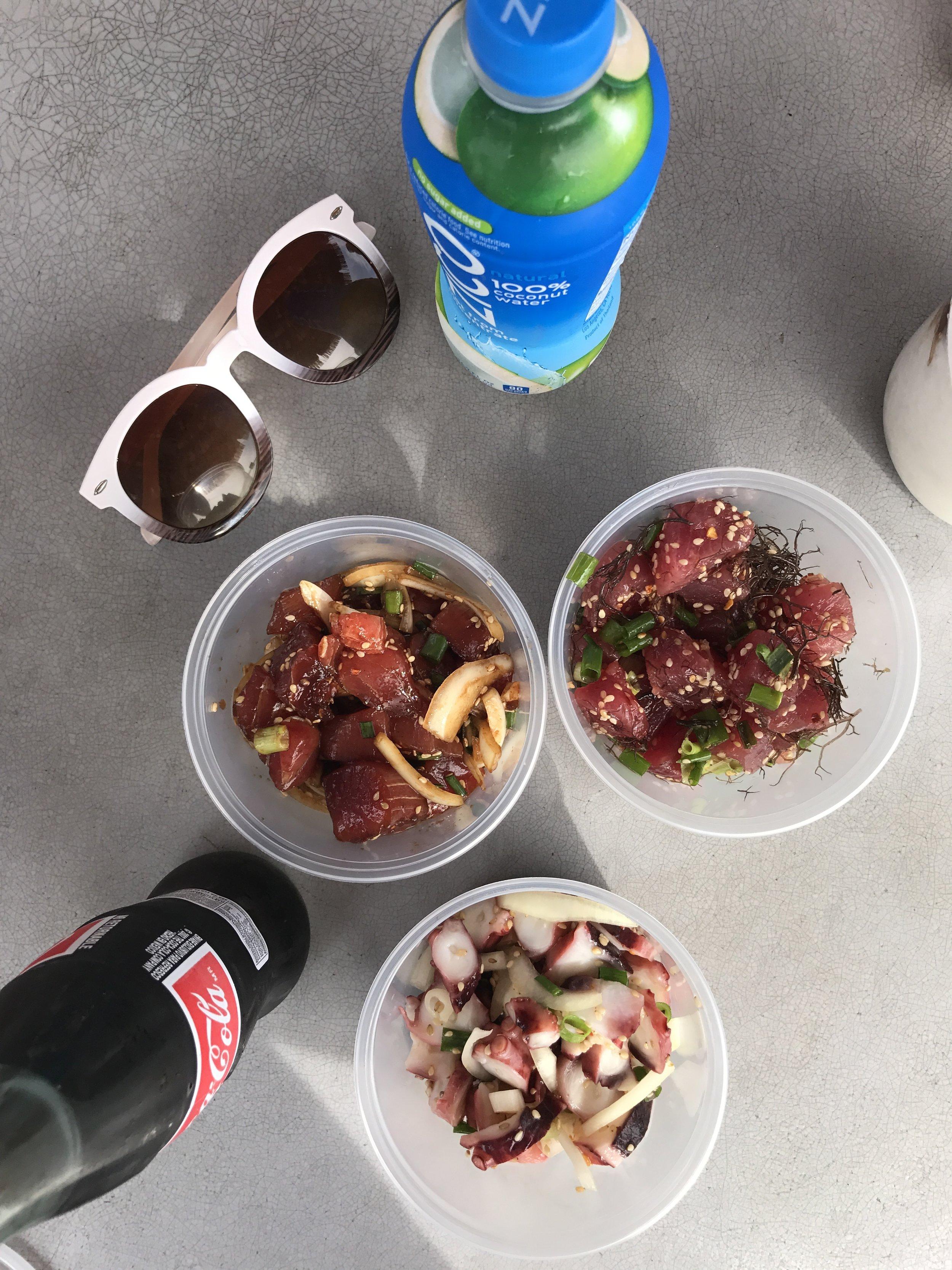 Oahu food trucks and poke hawaii eats