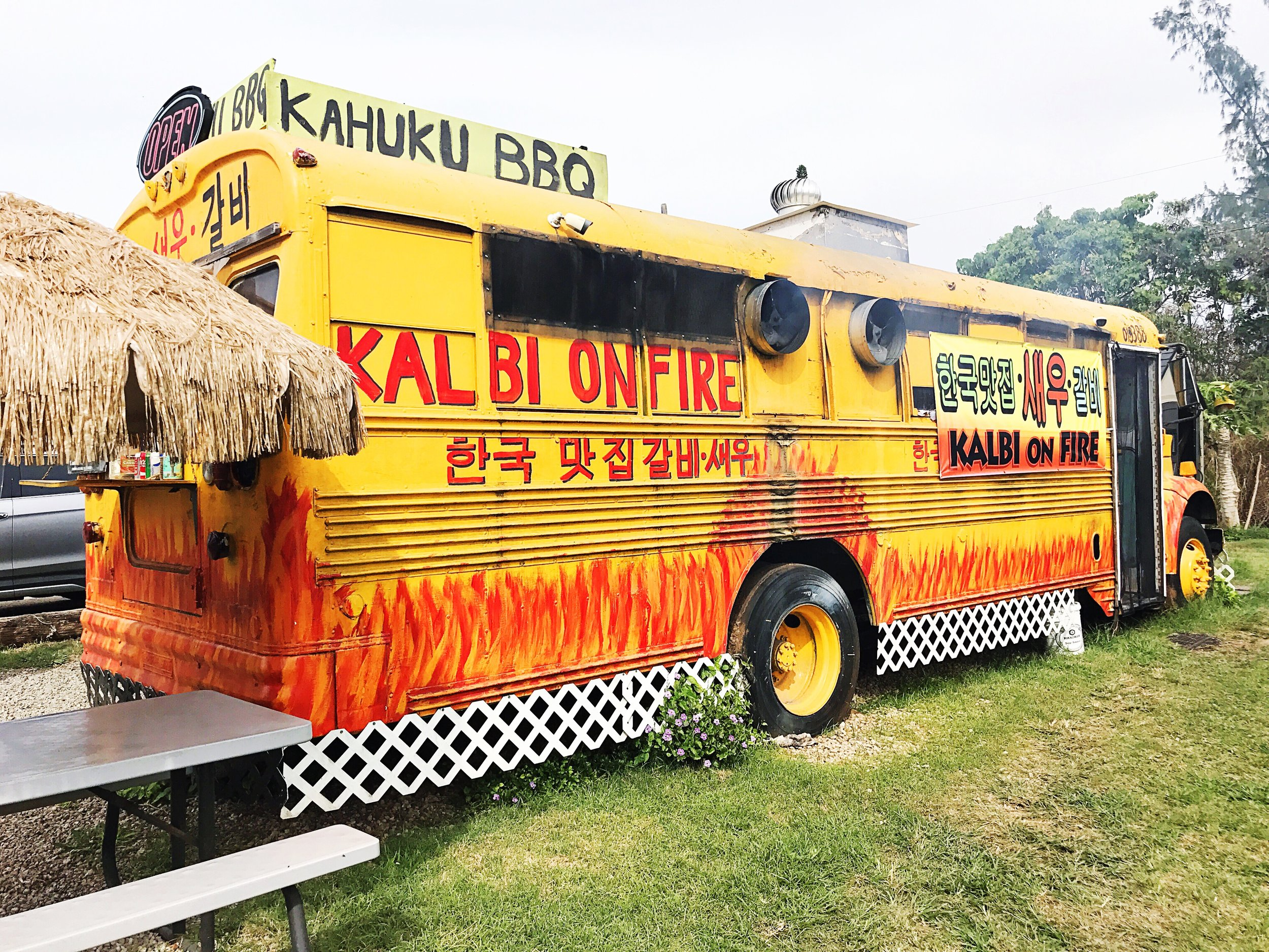 Korean BBQ North Shore Oahu food truck