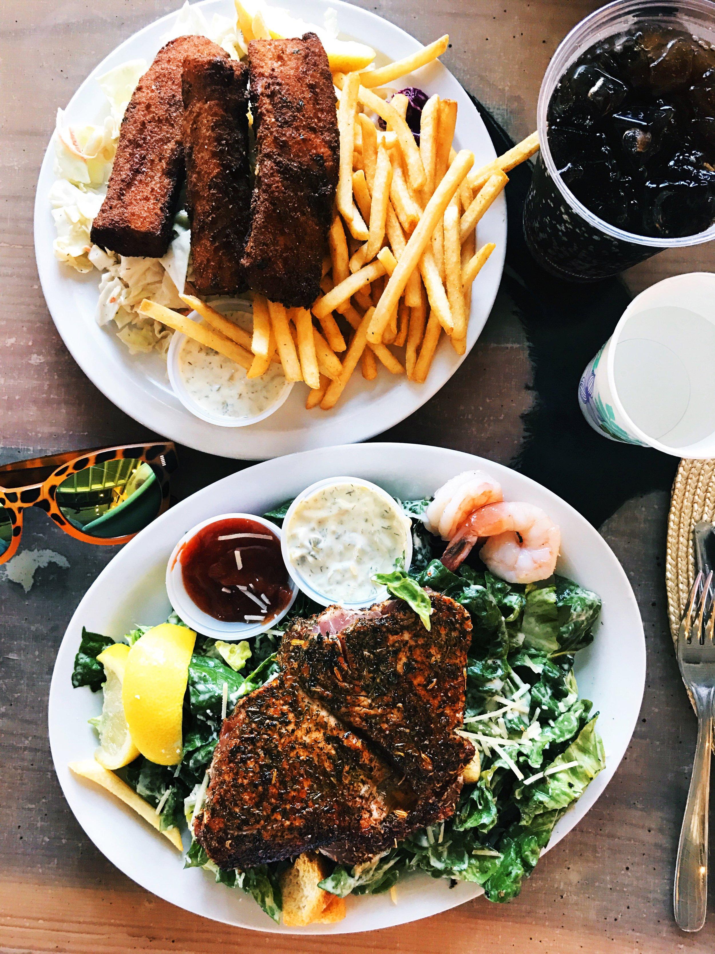 paia fish market maui things to eat