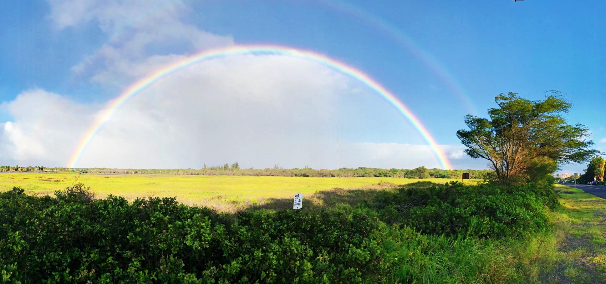 epic double rainbow maui hawaii