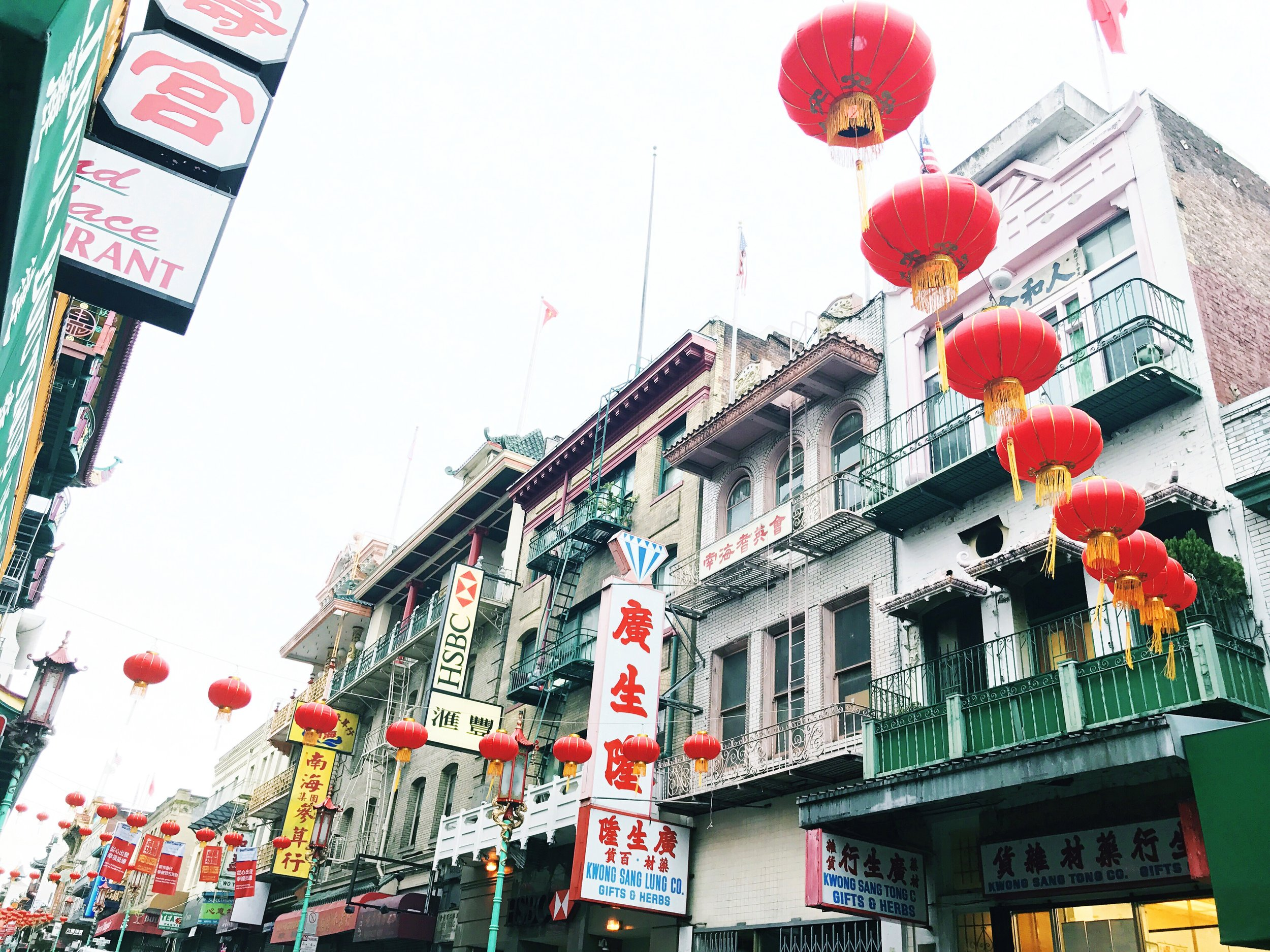 chinatown sf colors