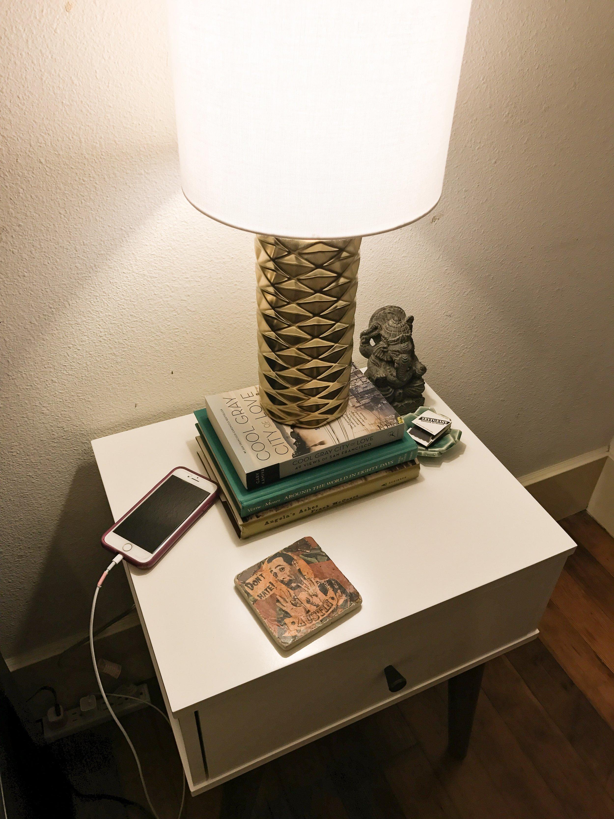 target home gold lamp