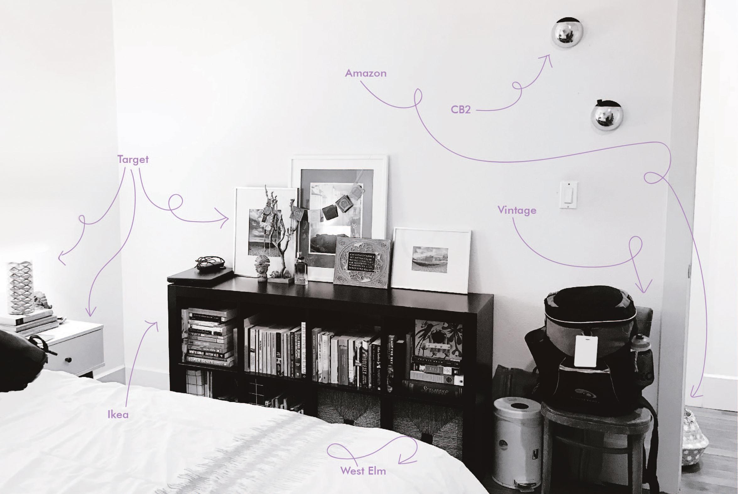 adult bedroom design inspo