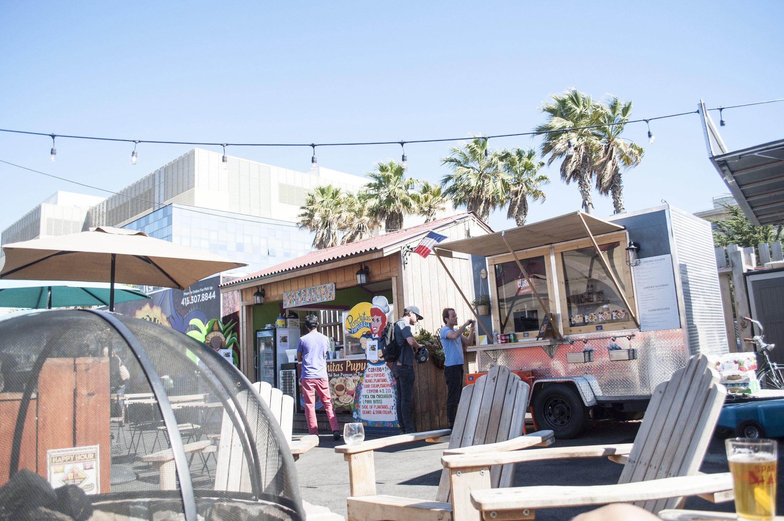 spark social sf food trucks mission bay