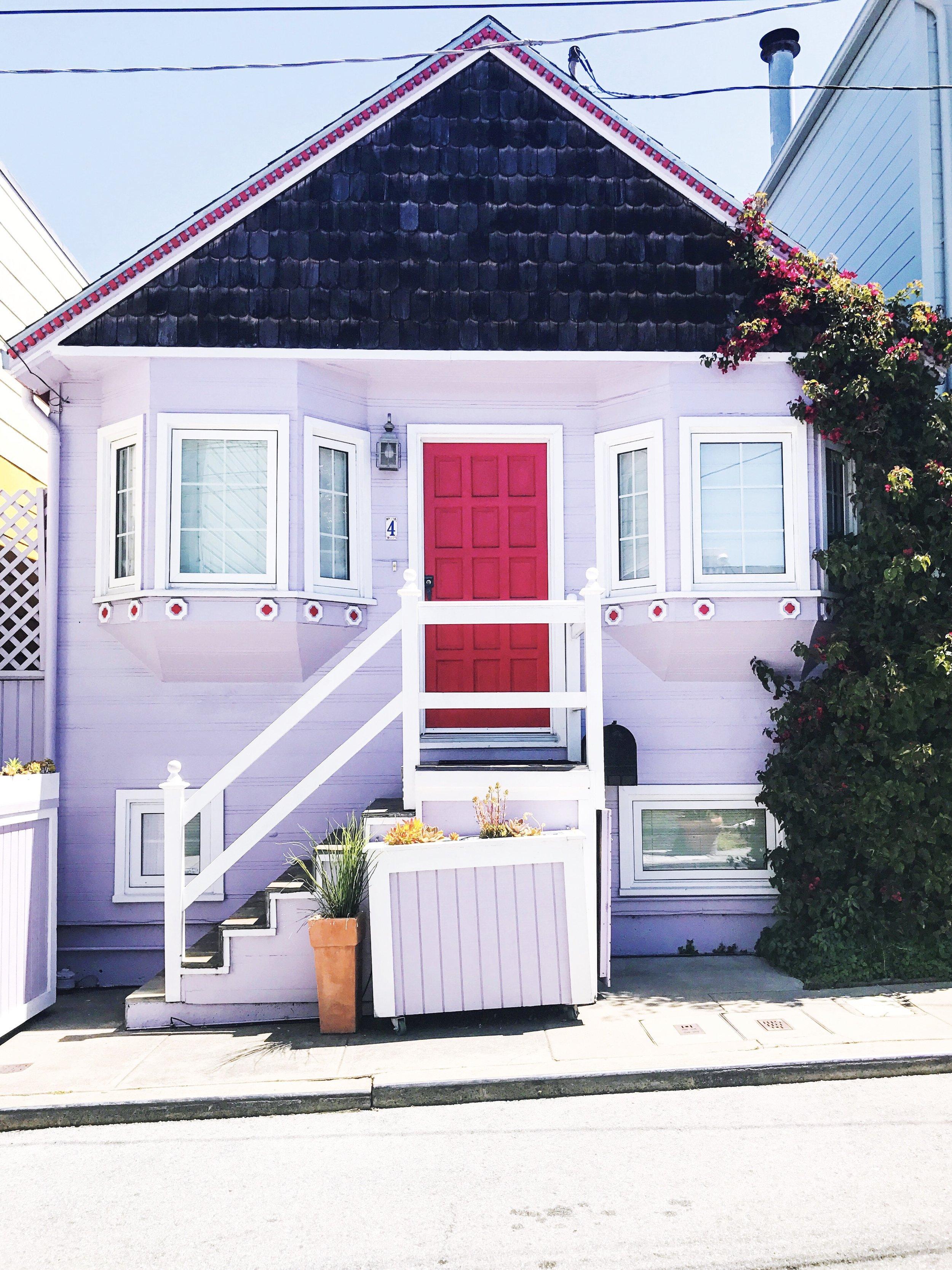 pink house san francisco